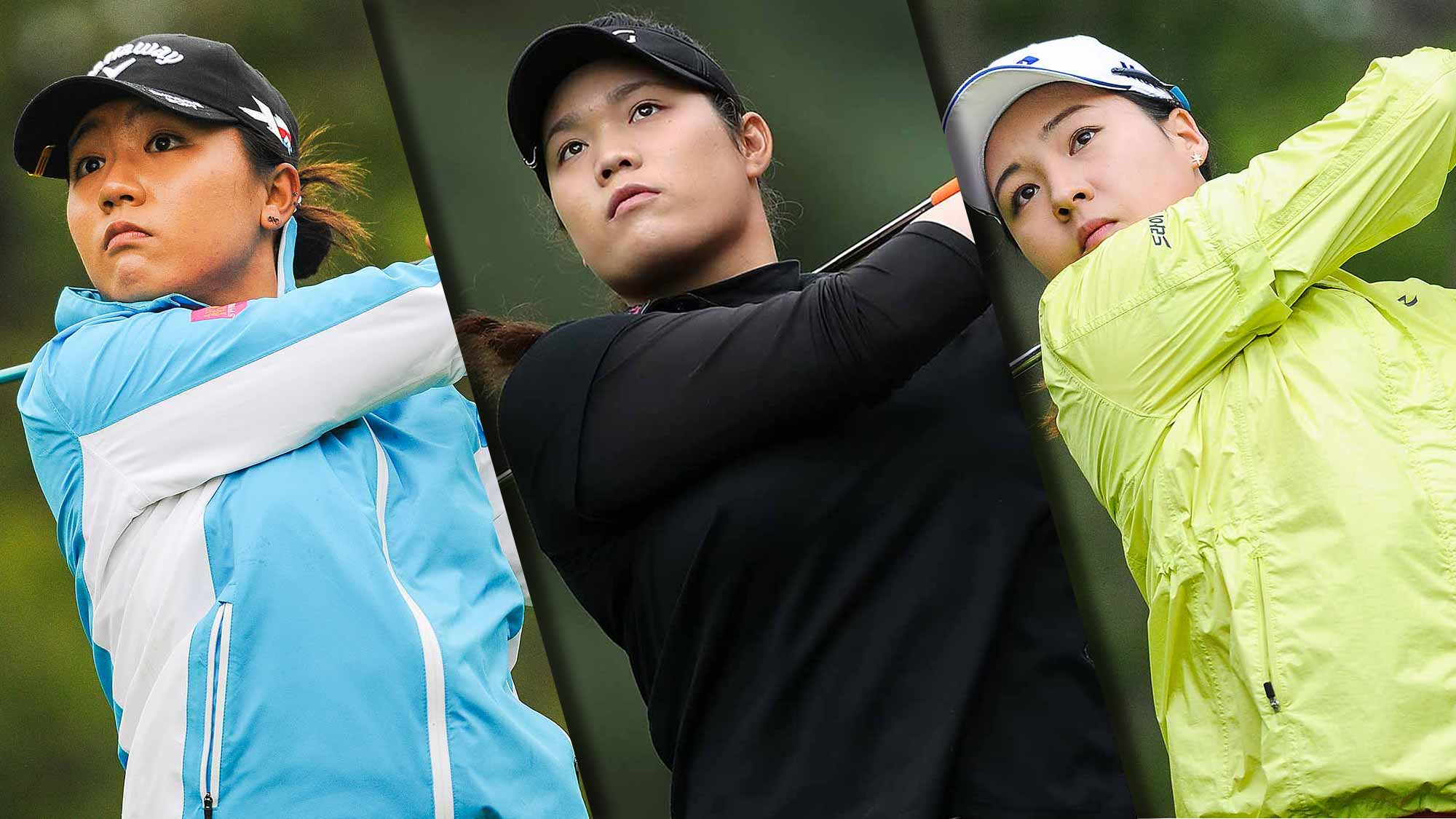 Lydia Ko, Ariya Jutanugarn and In Gee Chun