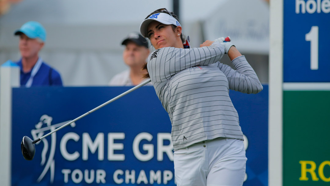 Gerina Piller during the CME Group Tour Championship Tuesday ProAm