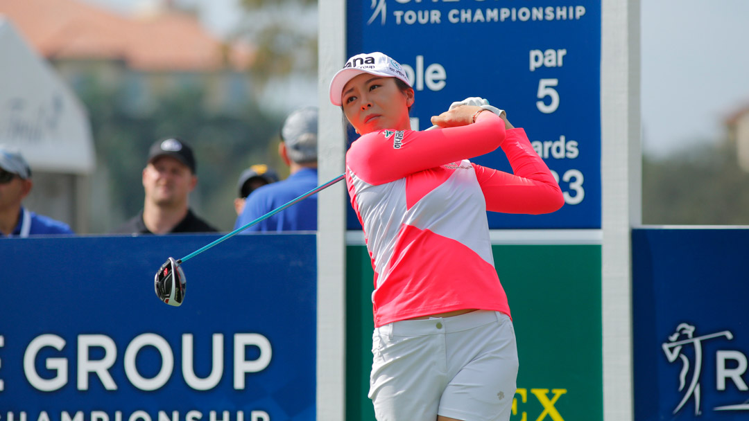 Mi Jung Hur during the CME Group Tour Championship Tuesday ProAm