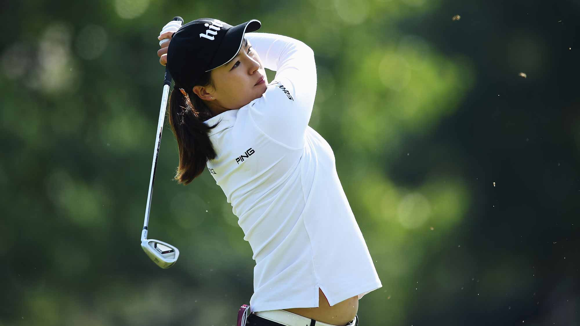 In Gee Chun during the first round of the Evian Championship