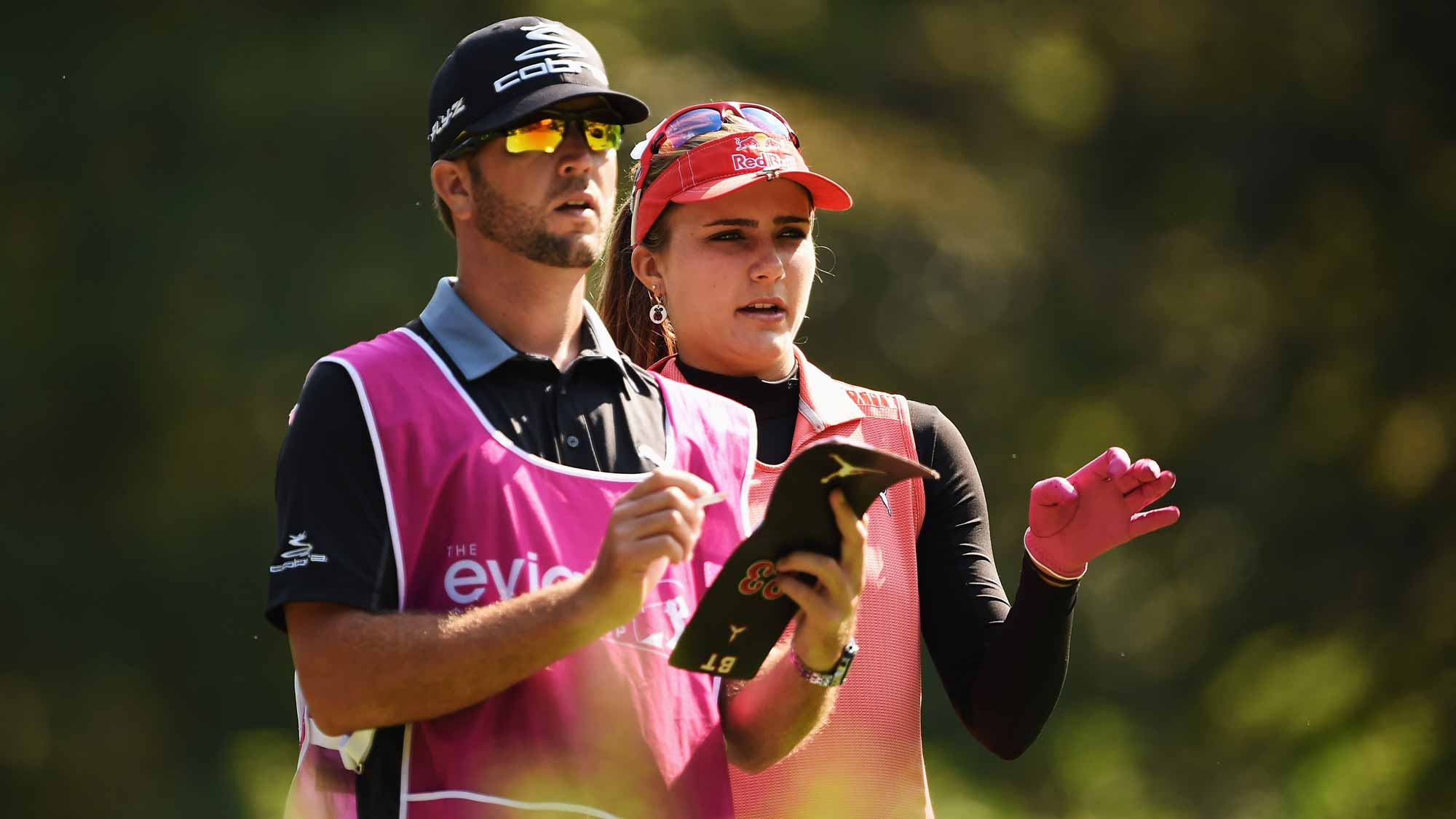 Lexi Thompson during the first round of the Evian Championship