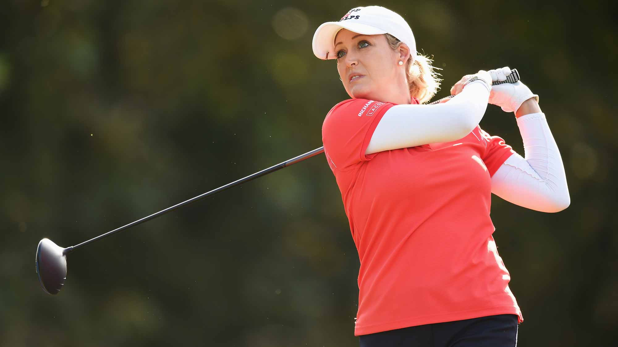 Cristie Kerr during the second round of the Evian Championship