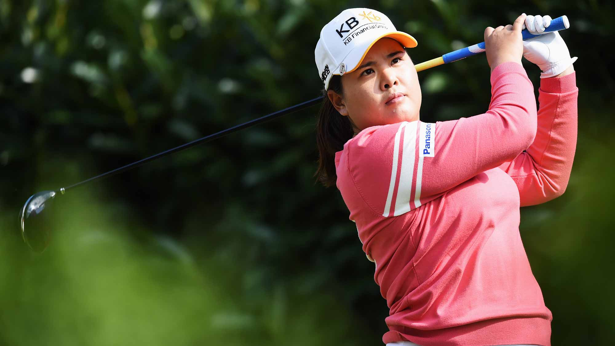 Inbee Park during the second round of the Evian Championship
