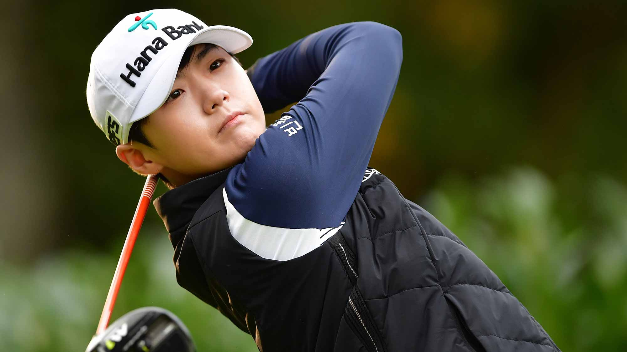 Sung Hyun Park leads in France as Catriona Matthew struggles