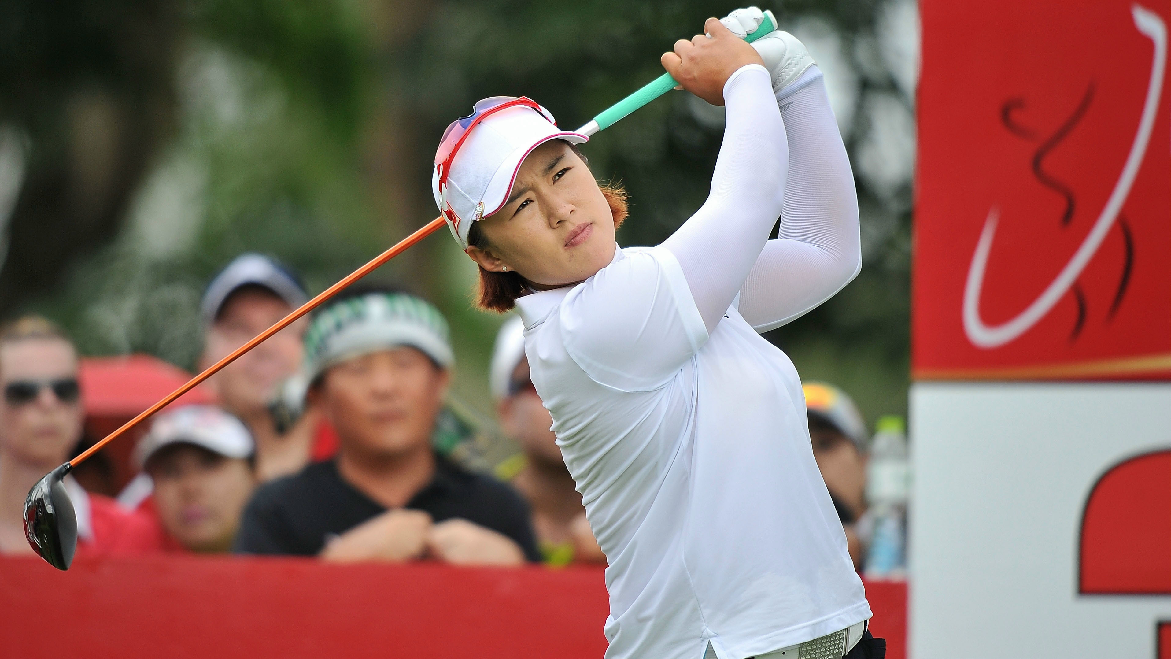Amy Yang during the final round of the 2015 Honda LPGA Thailand