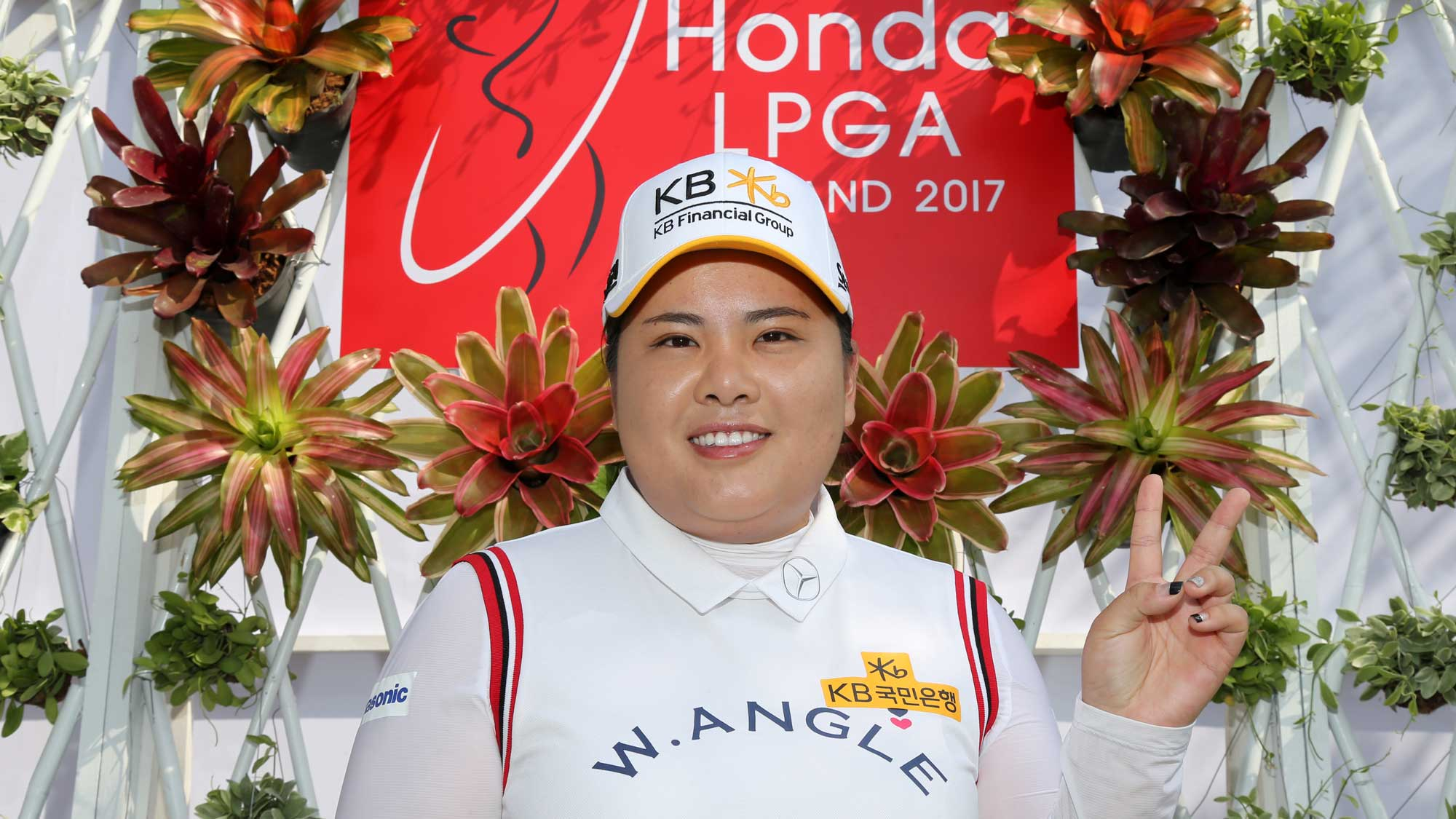 Inbee Park before the 2017 Honda LPGA Thailand