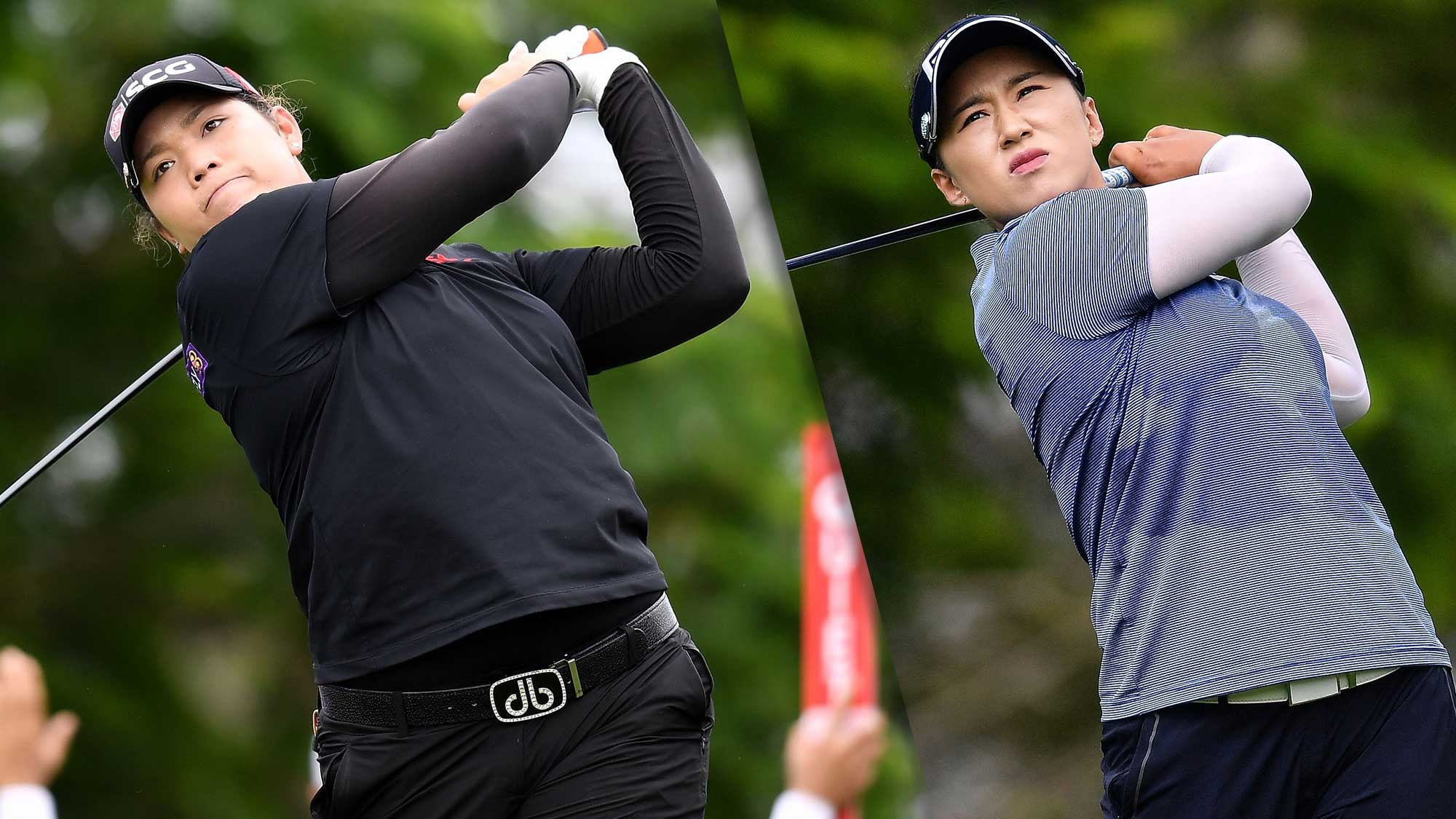2018 honda lpga thailand.  thailand ariya jutanugarn and amy yang share the opening round lead in thailand on 2018 honda lpga thailand t