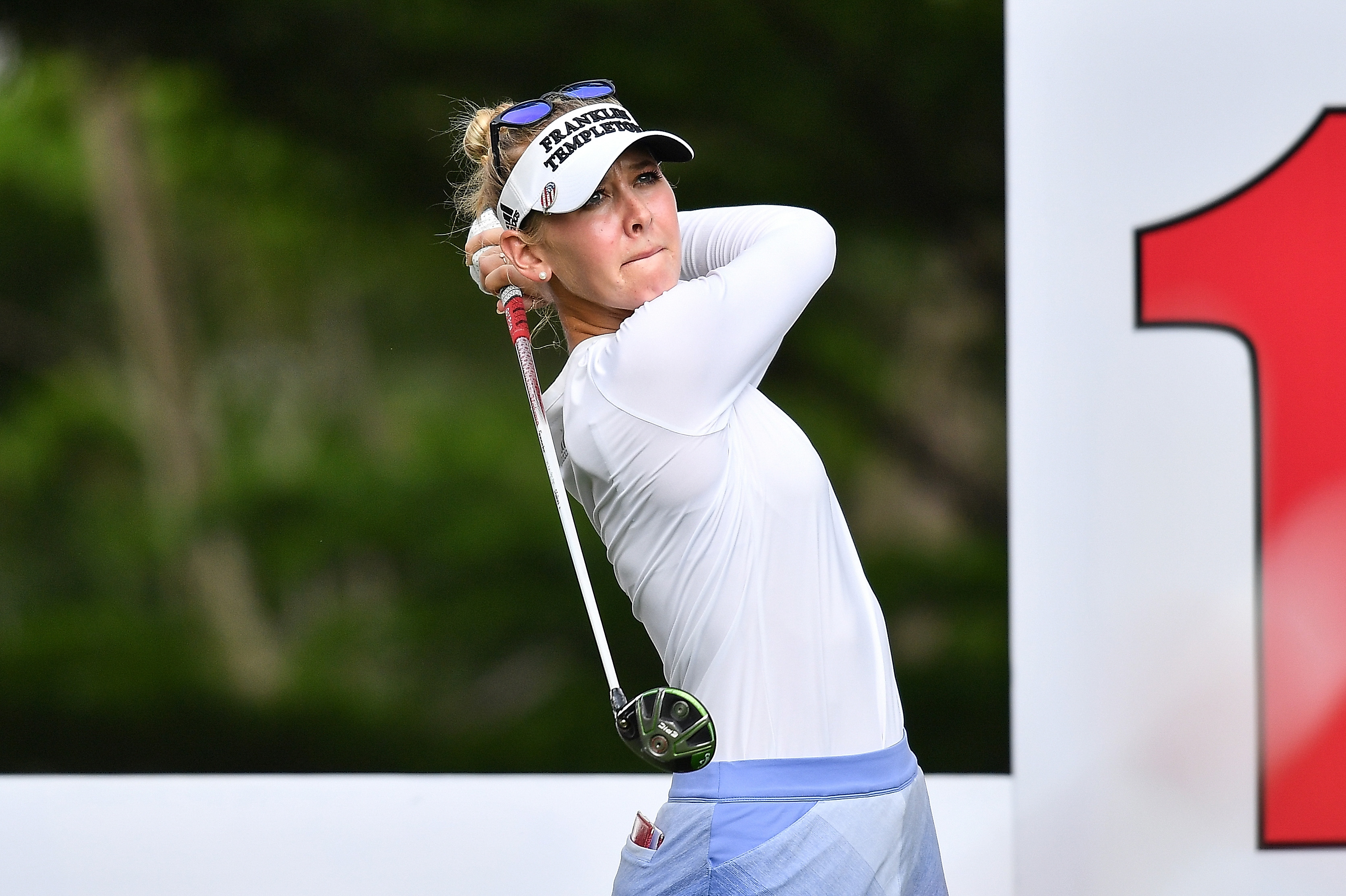 Jessica Korda Swings on Day One in Thailand