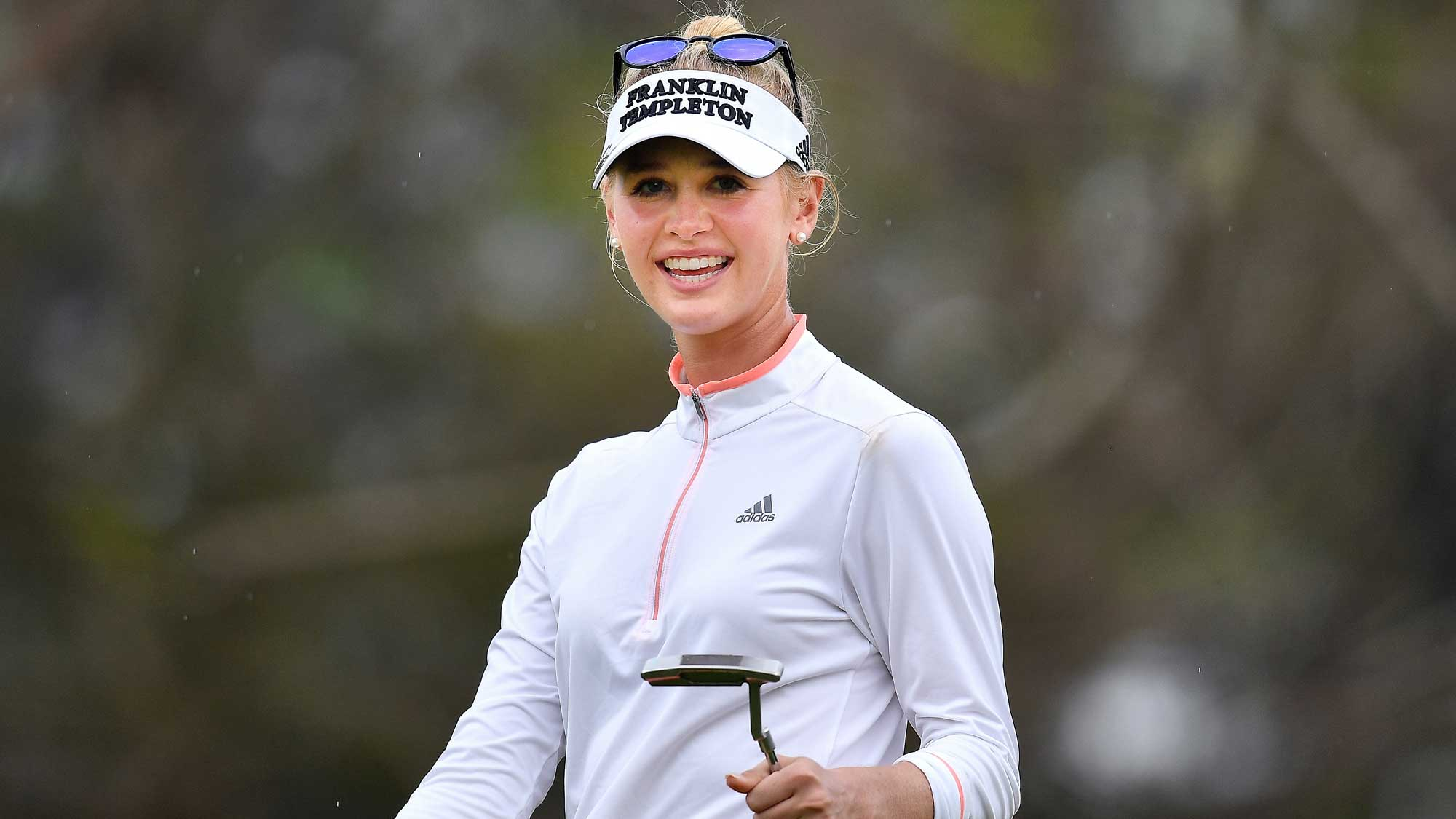 Jessica Korda All Smiles on Day Two in Thailand