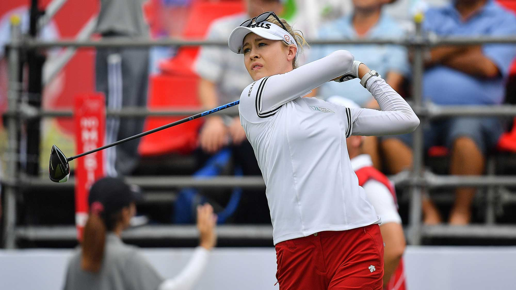 Nelly Korda Takes a Rip at Honda LPGA Thailand