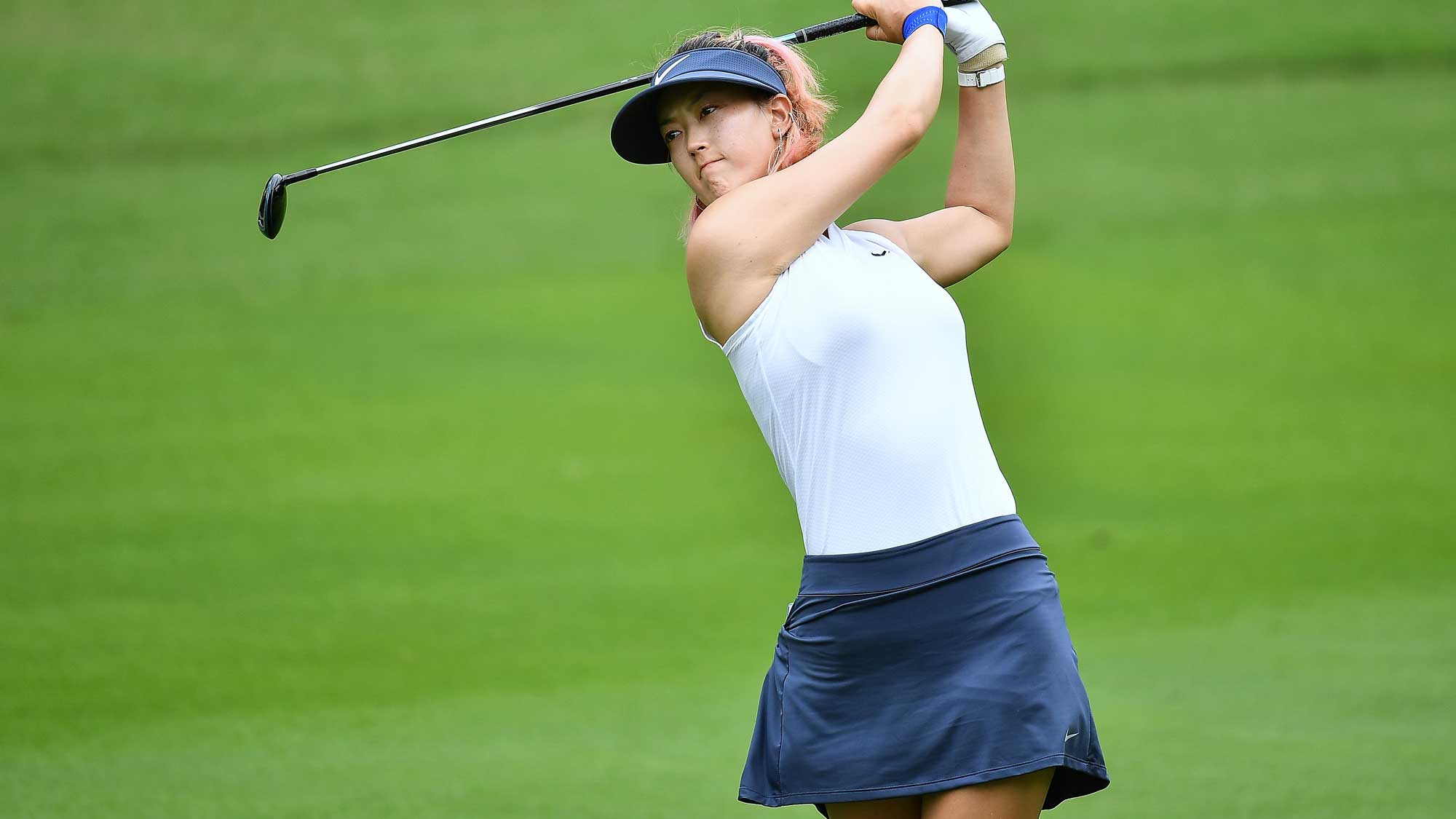 Michelle Wie on Day Two of Honda LPGA Thailand