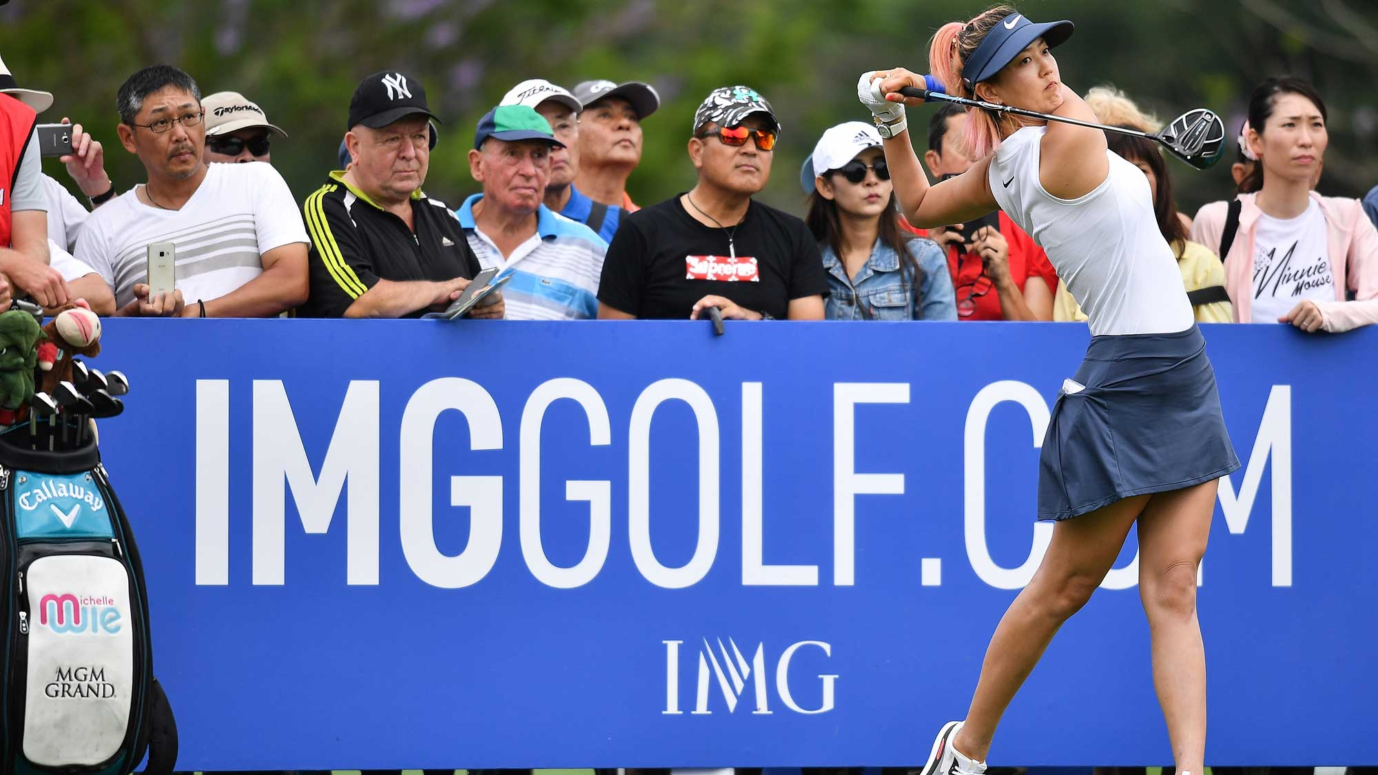 Michelle Wie Swings on Day Two of Honda LPGA Thailand