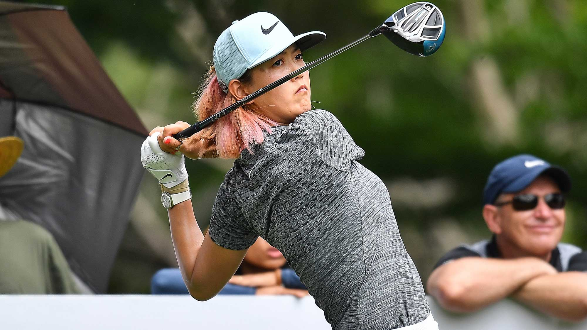 Michelle Wie Swings on Day One at Honda LPGA Thailand