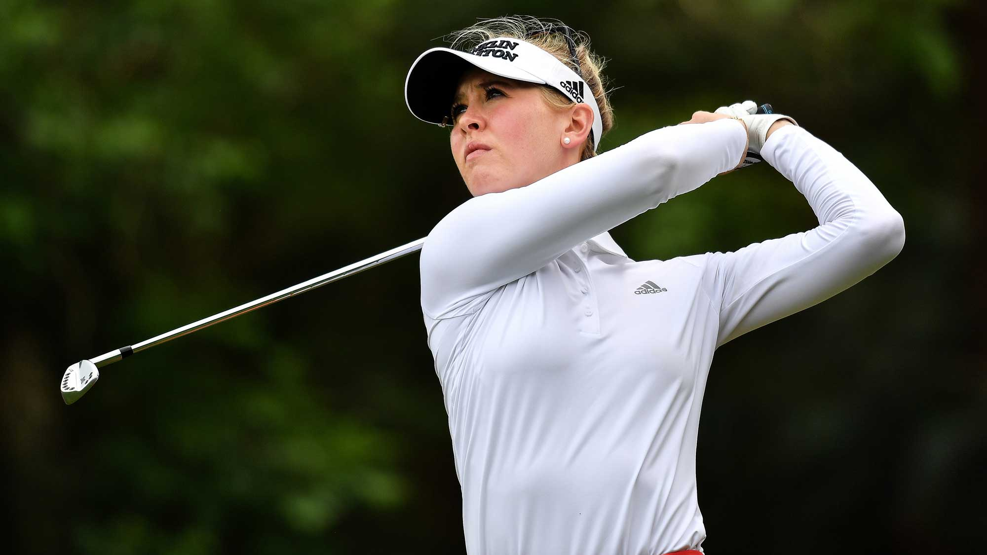 Jessica Korda Swings on Day Three at Honda LPGA Thailand