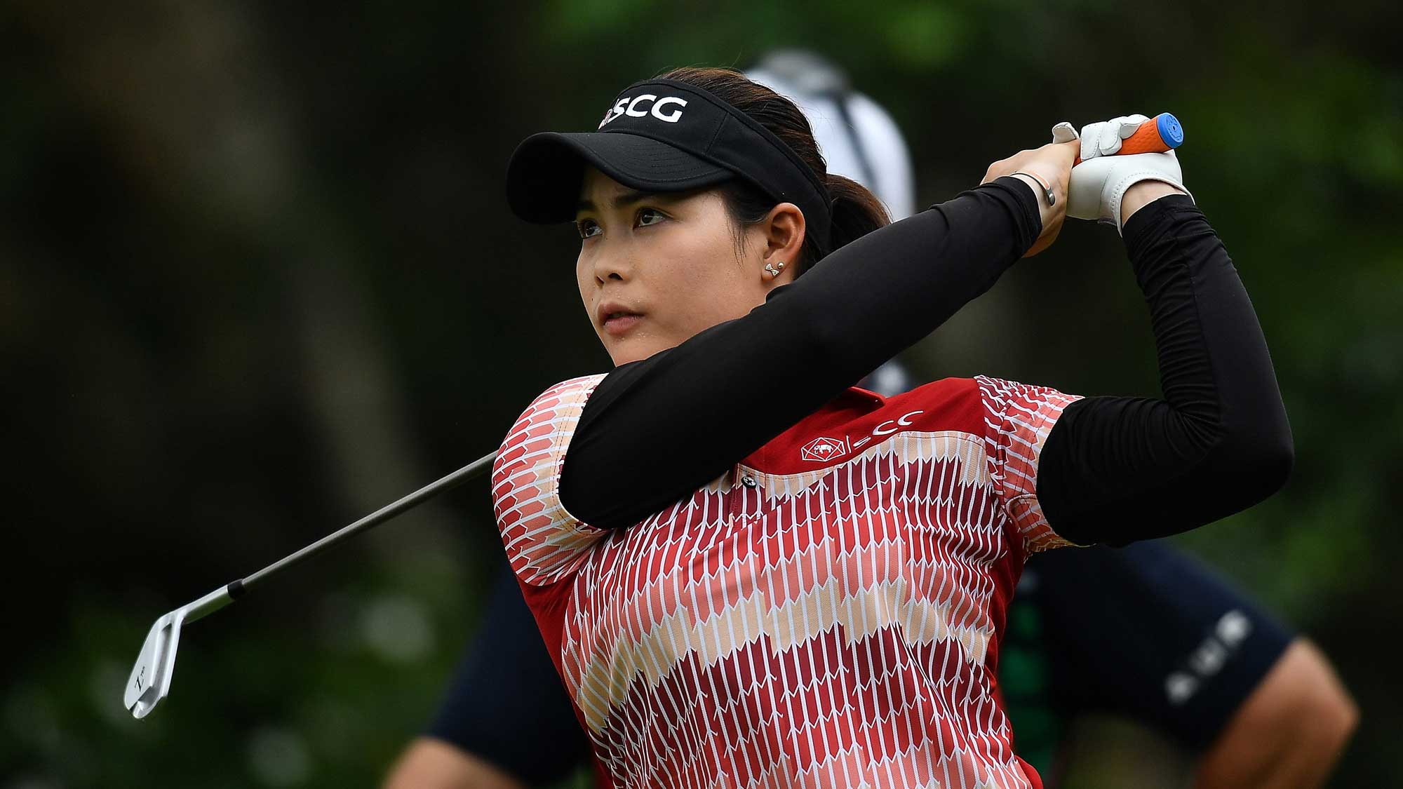 Moriya Jutanugarn Holes Out on 14 in Thailand
