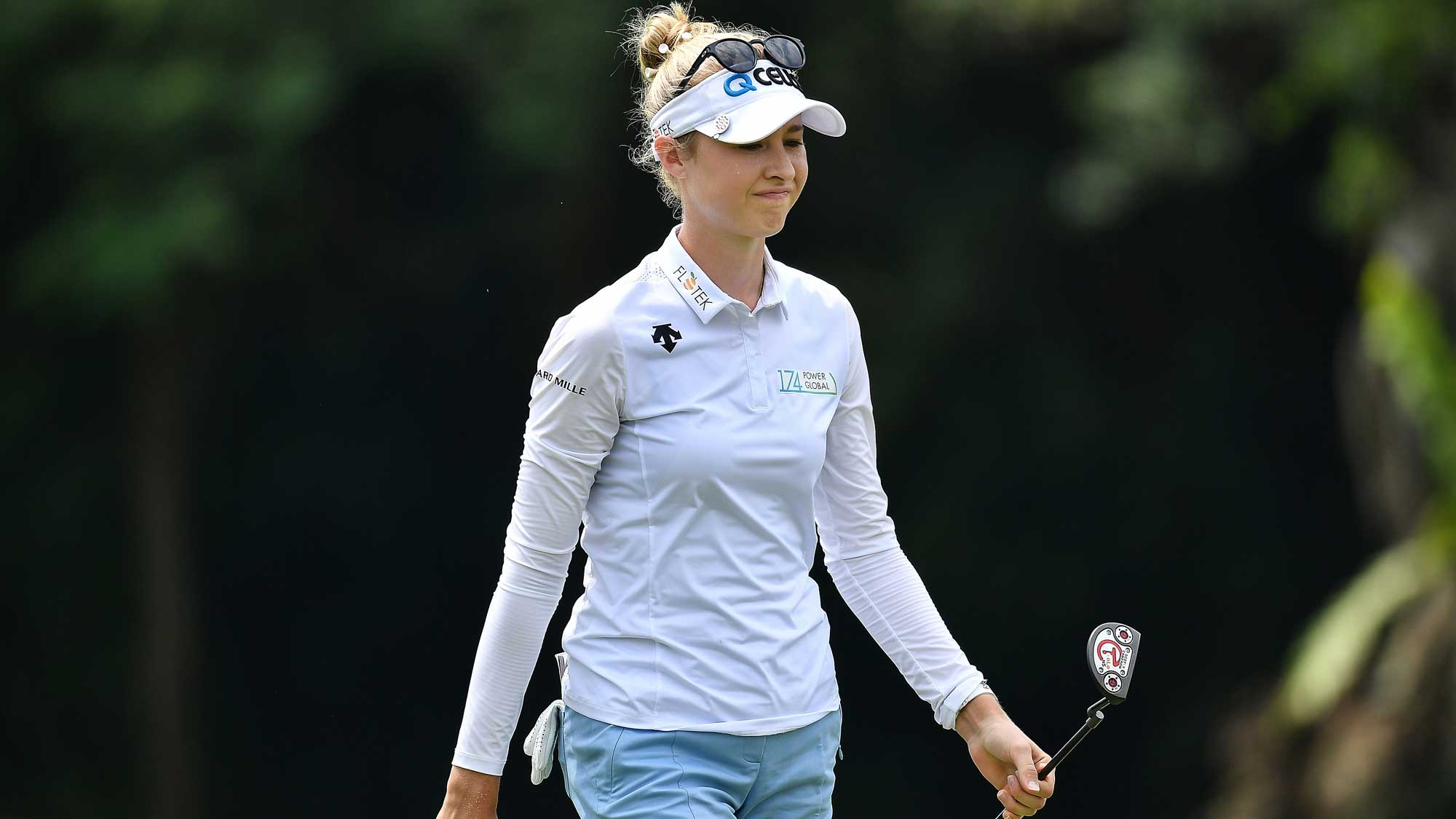 Nelly Korda with Stellar Day Three in Thailand