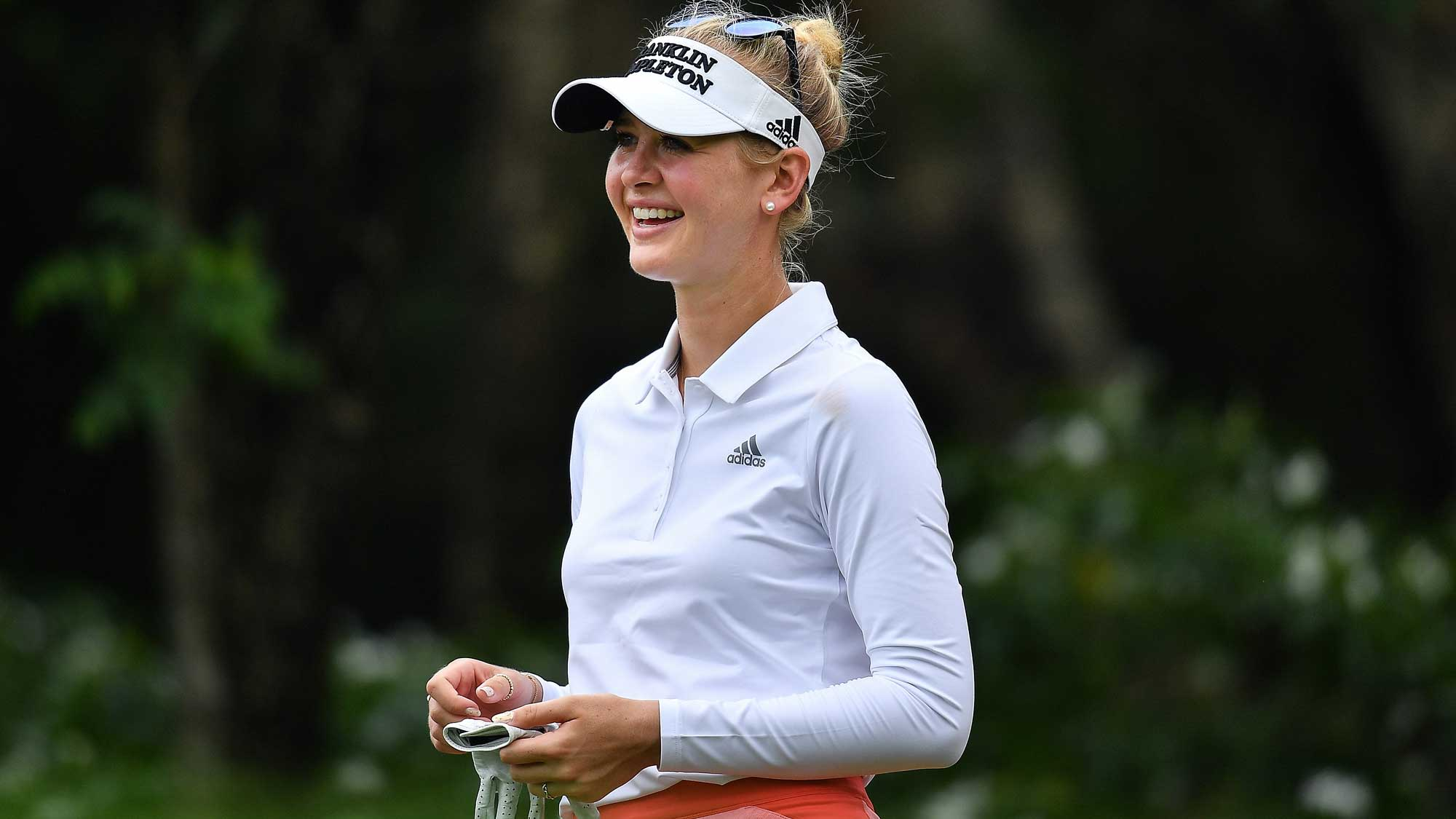 Korda smokes Siam course with record 62, up four in Thailand