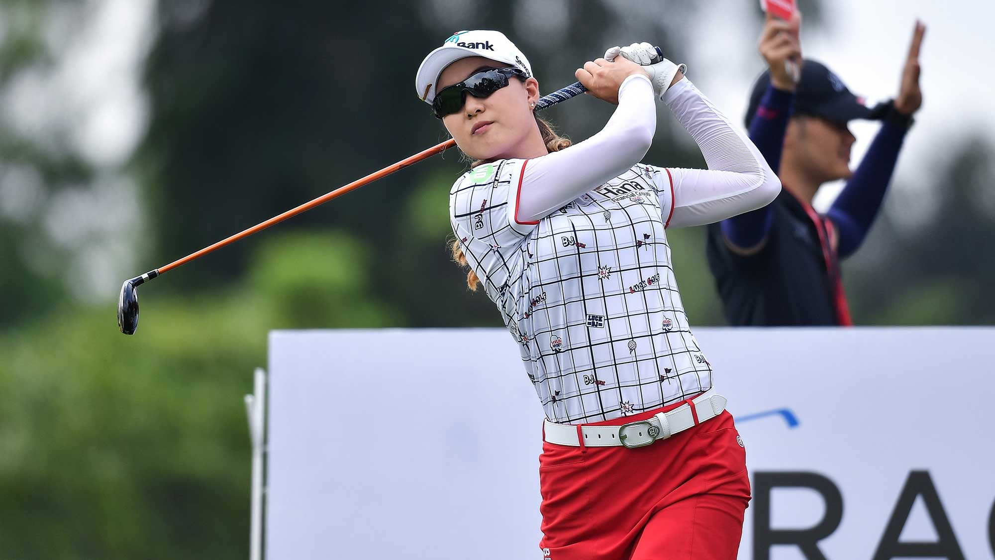 MInjee Lee on Day One of Honda LPGA Thailand
