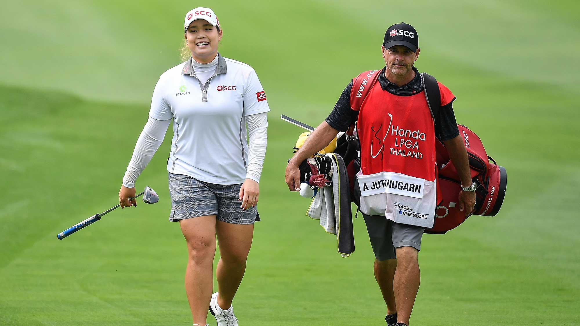 Ariya Jutanugarn on Day One of Honda LPGA Thailand