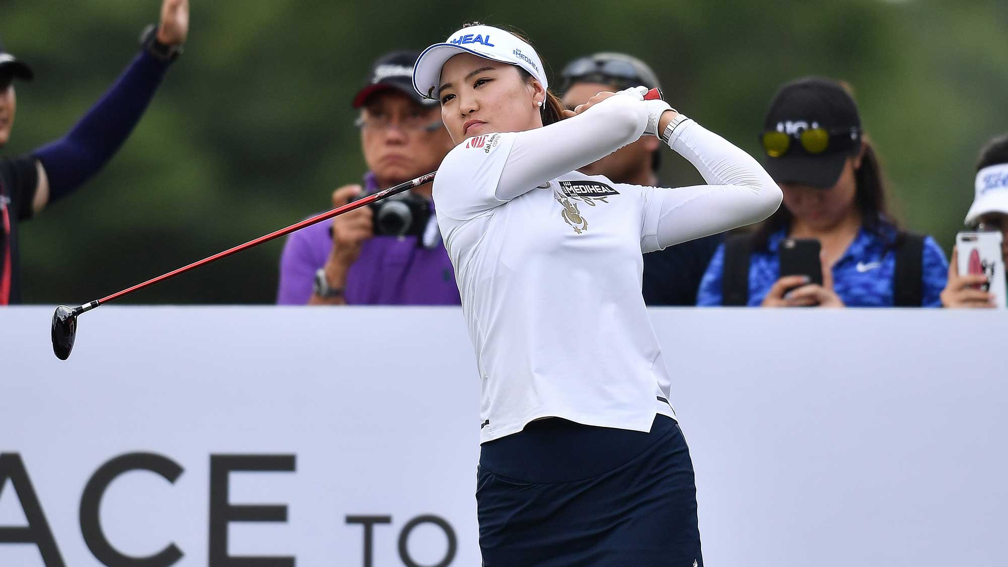 So Yeon Ryu Swings on Day One of Honda LPGA Thailand