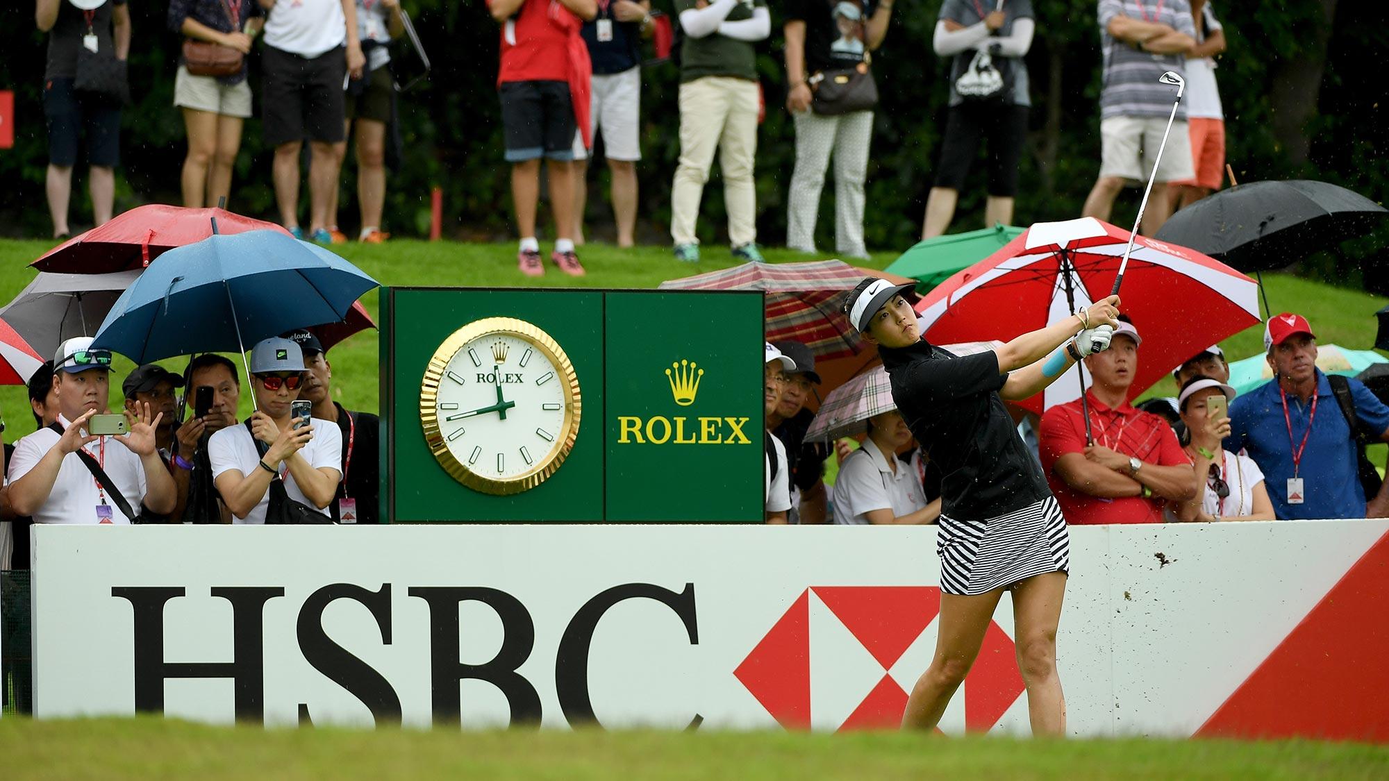 Lydia Ko shoots up leaderboard after sensational effort in Singapore