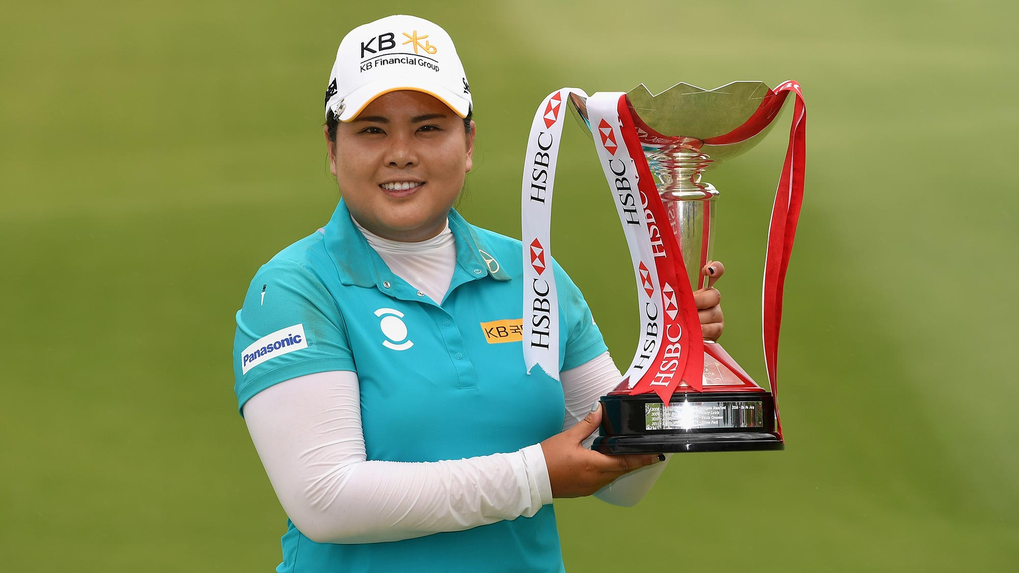 Image result for Inbee park wins 2017 hsbc