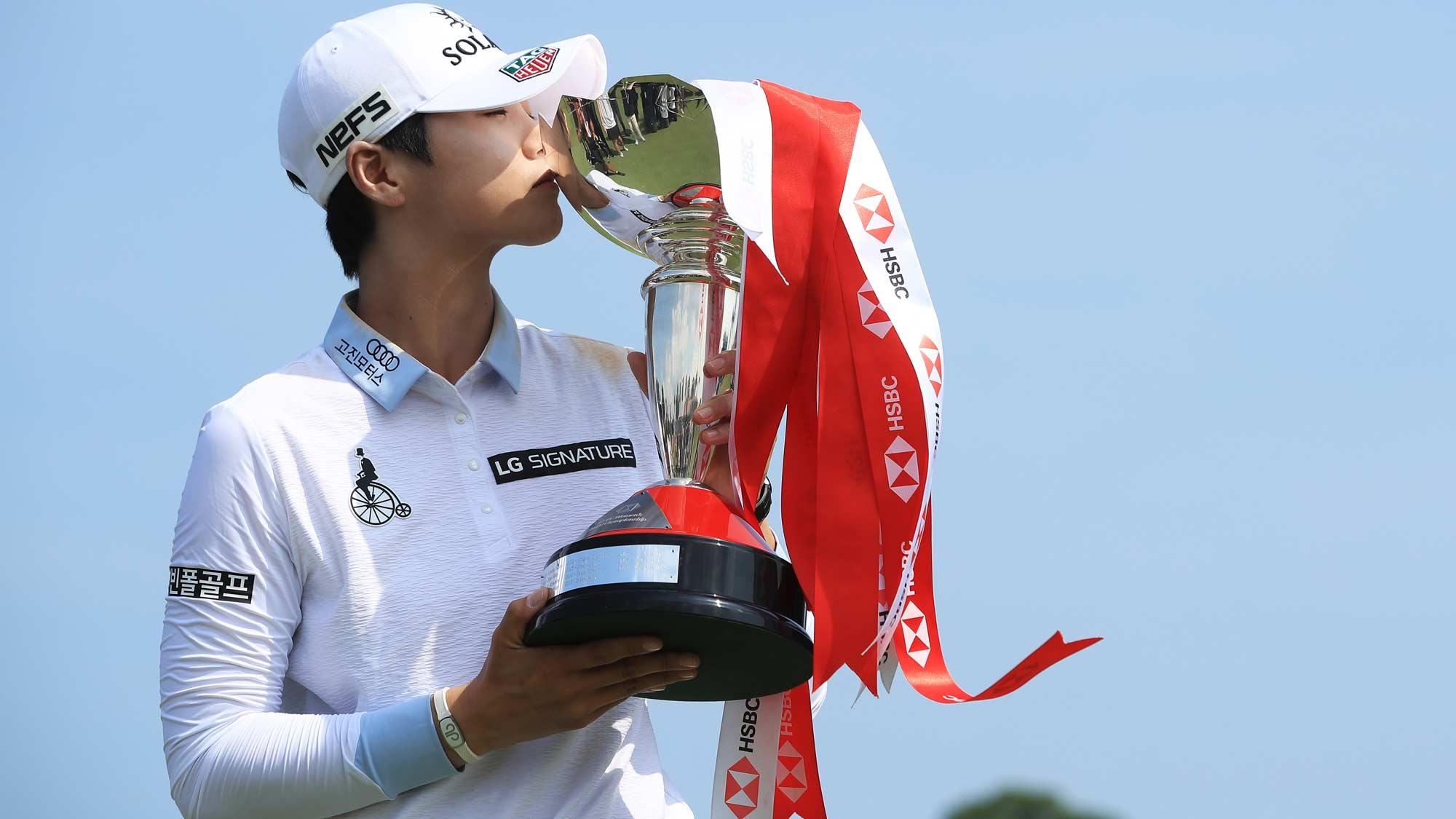 2019 Defending champion Sung Hyun Park