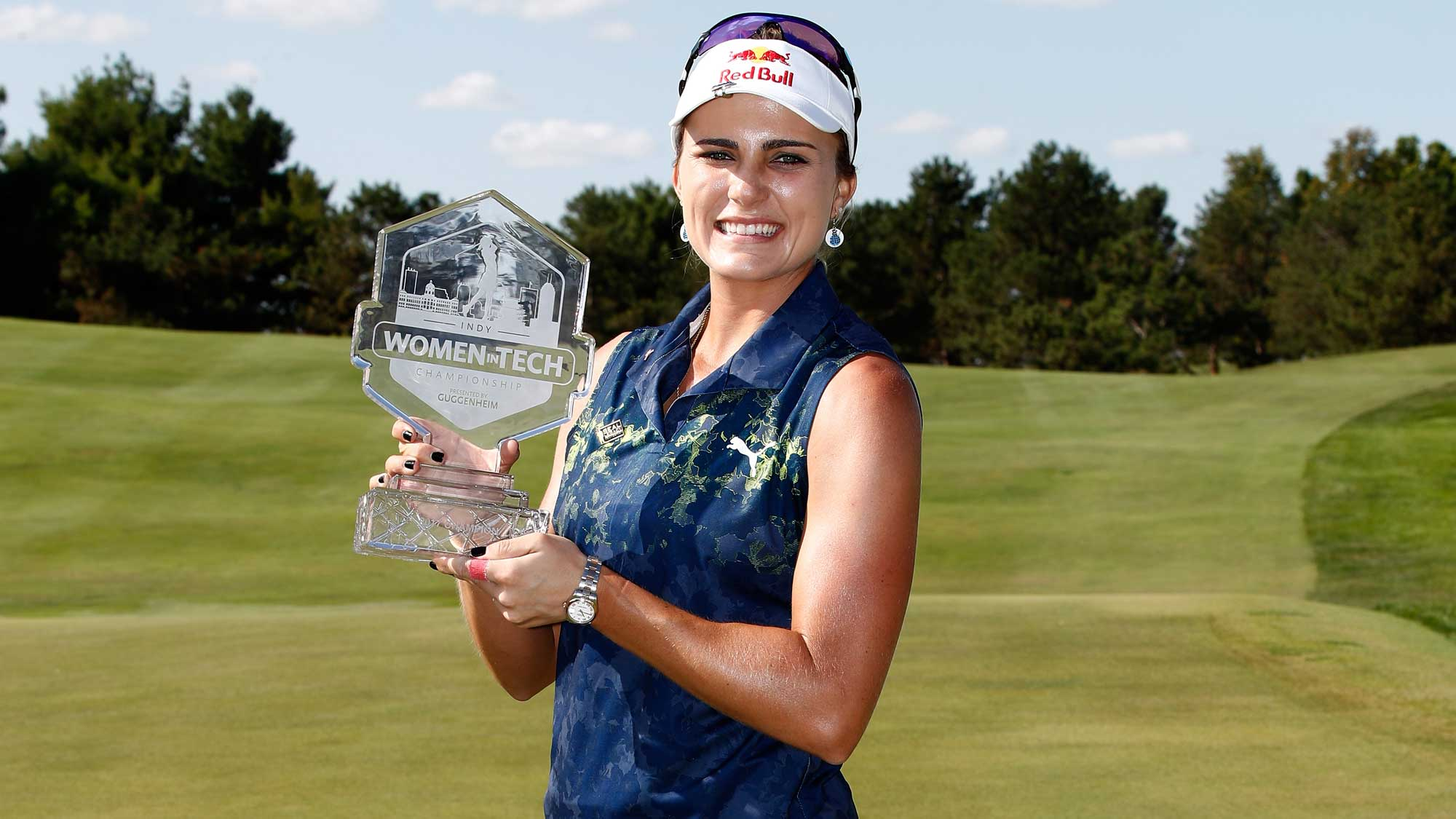 Image result for lexi thompson wins indy women in tech golf