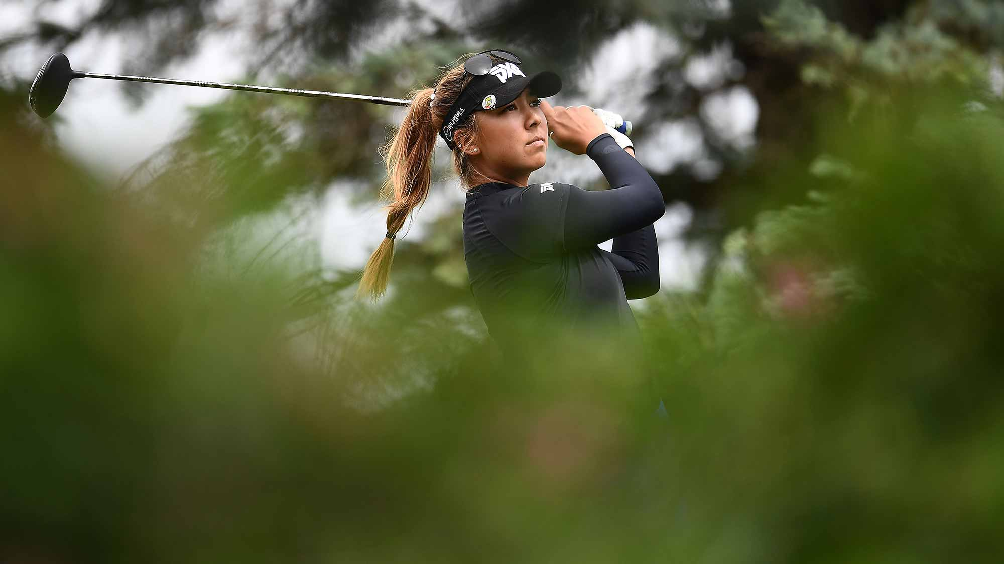 Johnson, Flanagan lead Vic Open in LPGA-European Tour event