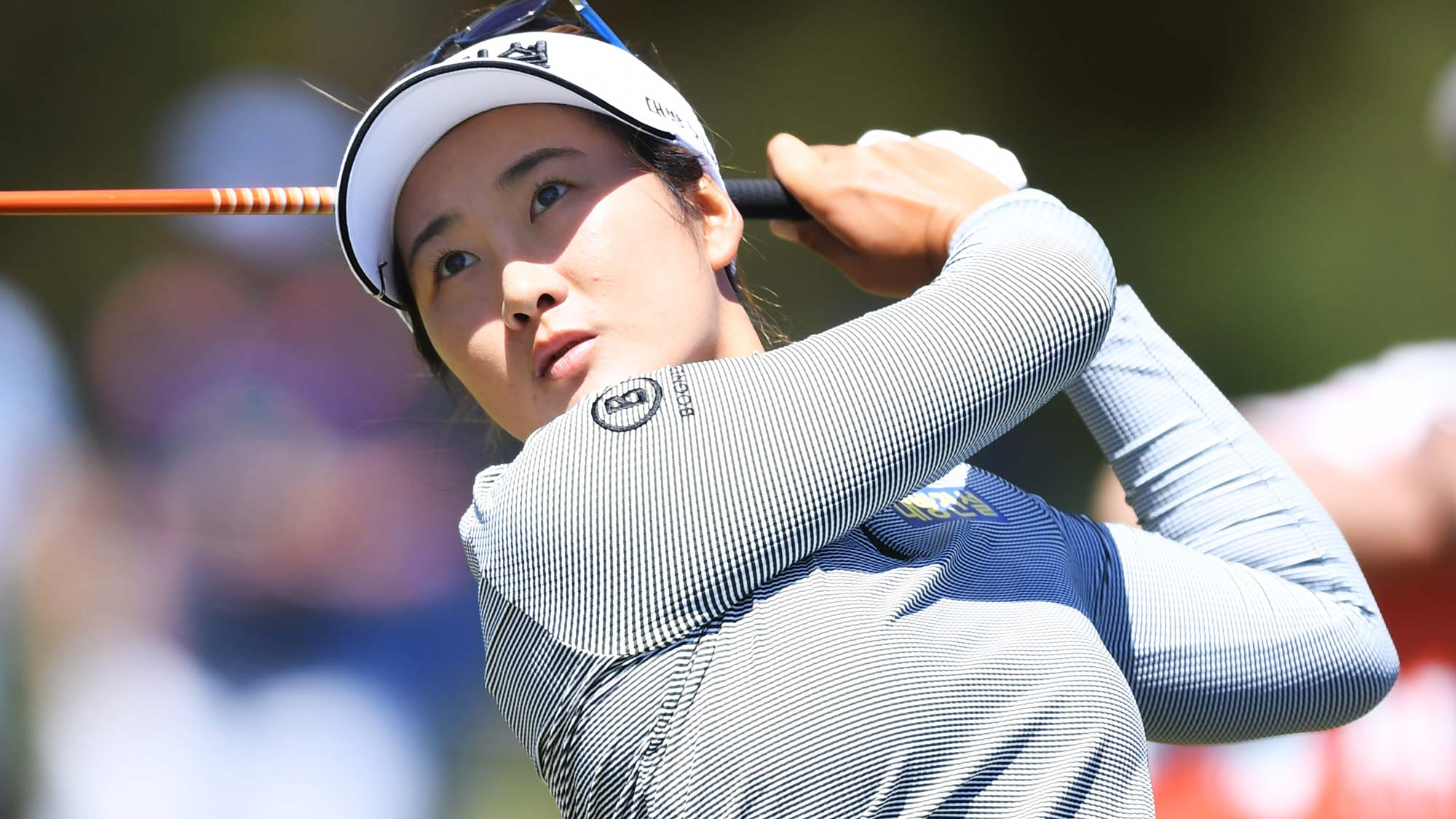Su Oh of Australia during day one of the 2019 ISPS Handa Women's Australian Open
