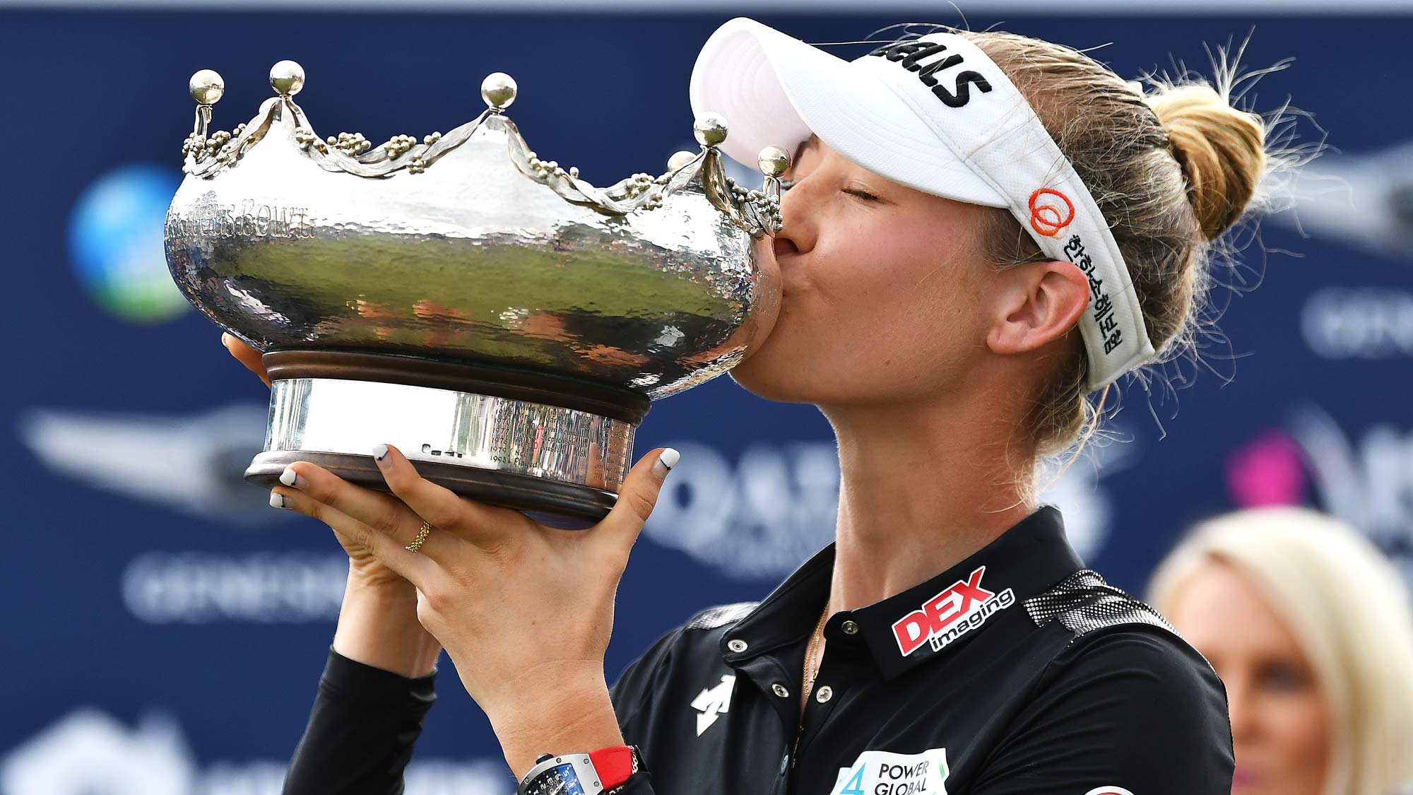 Defending champion Nelly Korda