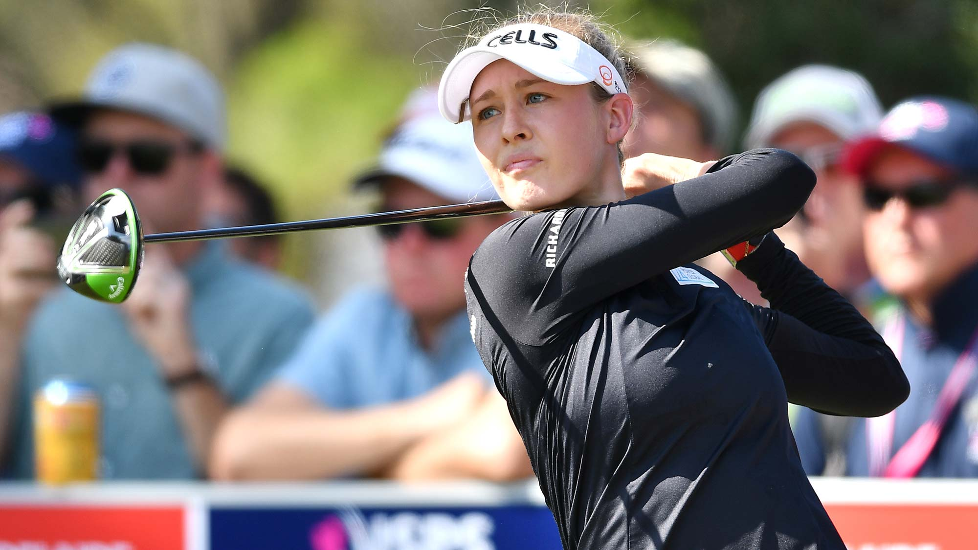 Nelly Korda of the USA during day four of the 2019 ISPS Handa Women's Australian Open