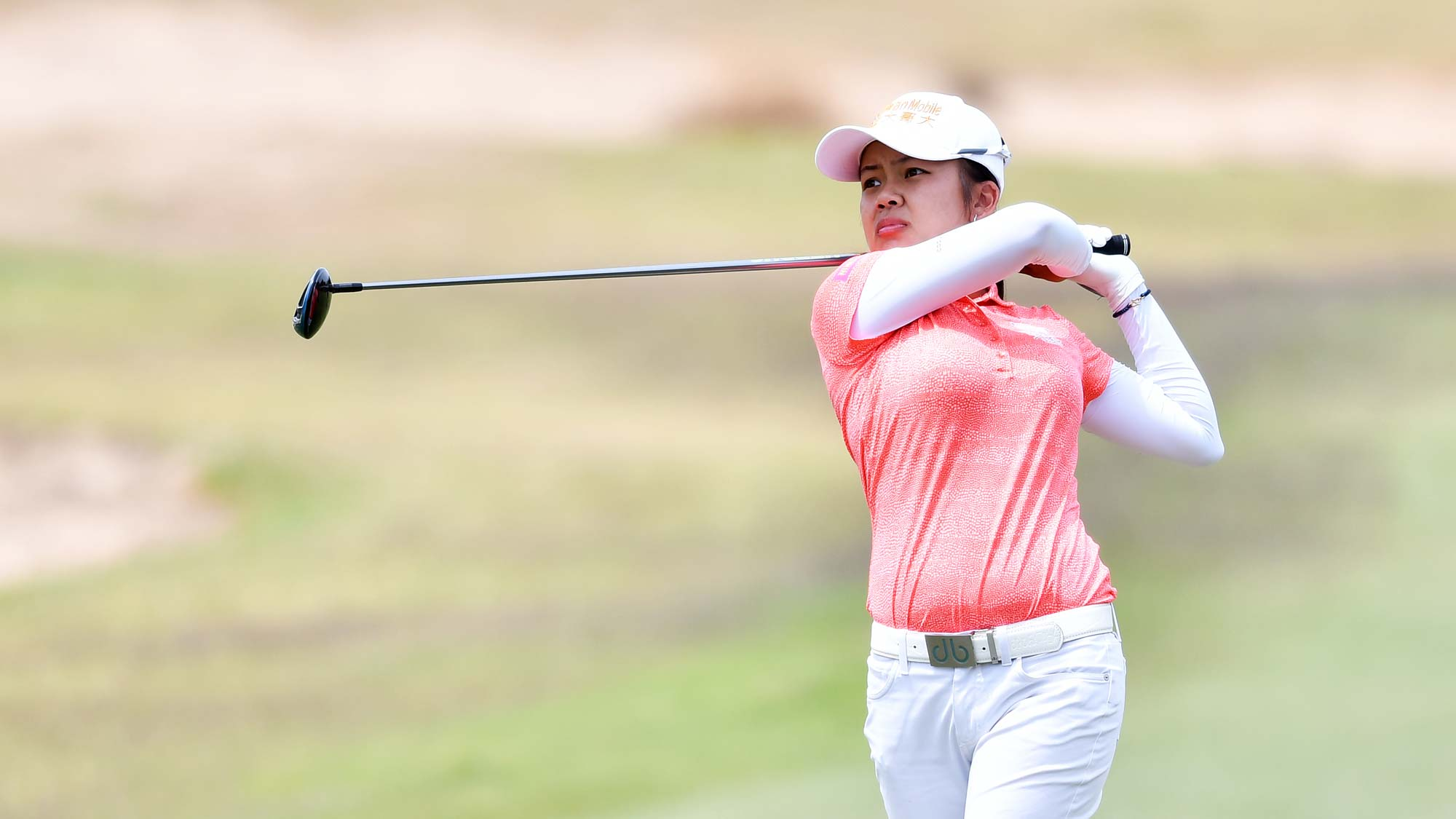 Wei-Ling Hsu of Taiwan during day four of the 2019 ISPS Handa Women's Australian Open