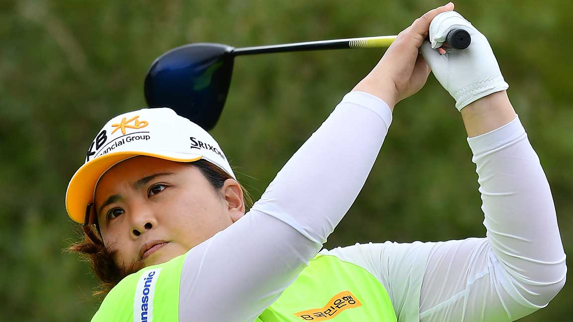 Inbee Park Tees Off at 18