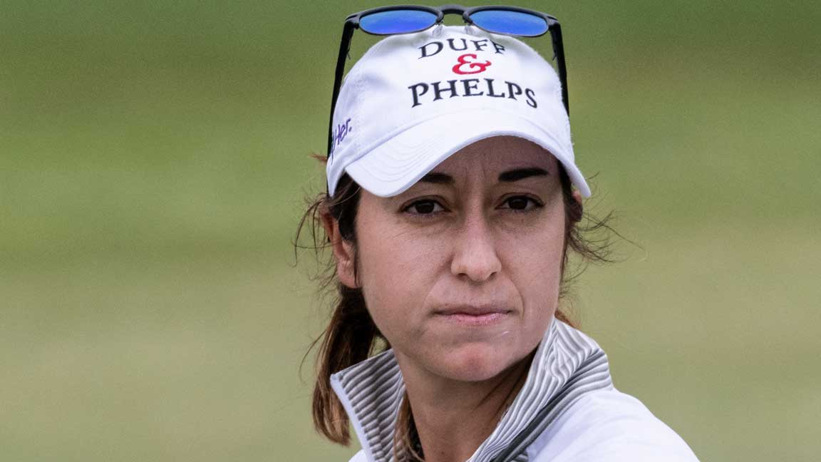 Marina Alex during third round at 2020 ISPS Handa Women's Australian Open
