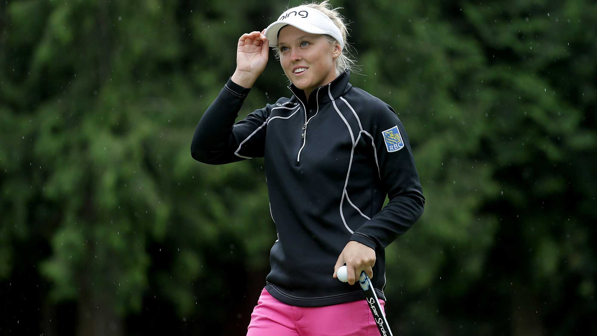 Brooke Henderson Takes First Round Lead At Kpmg Women S