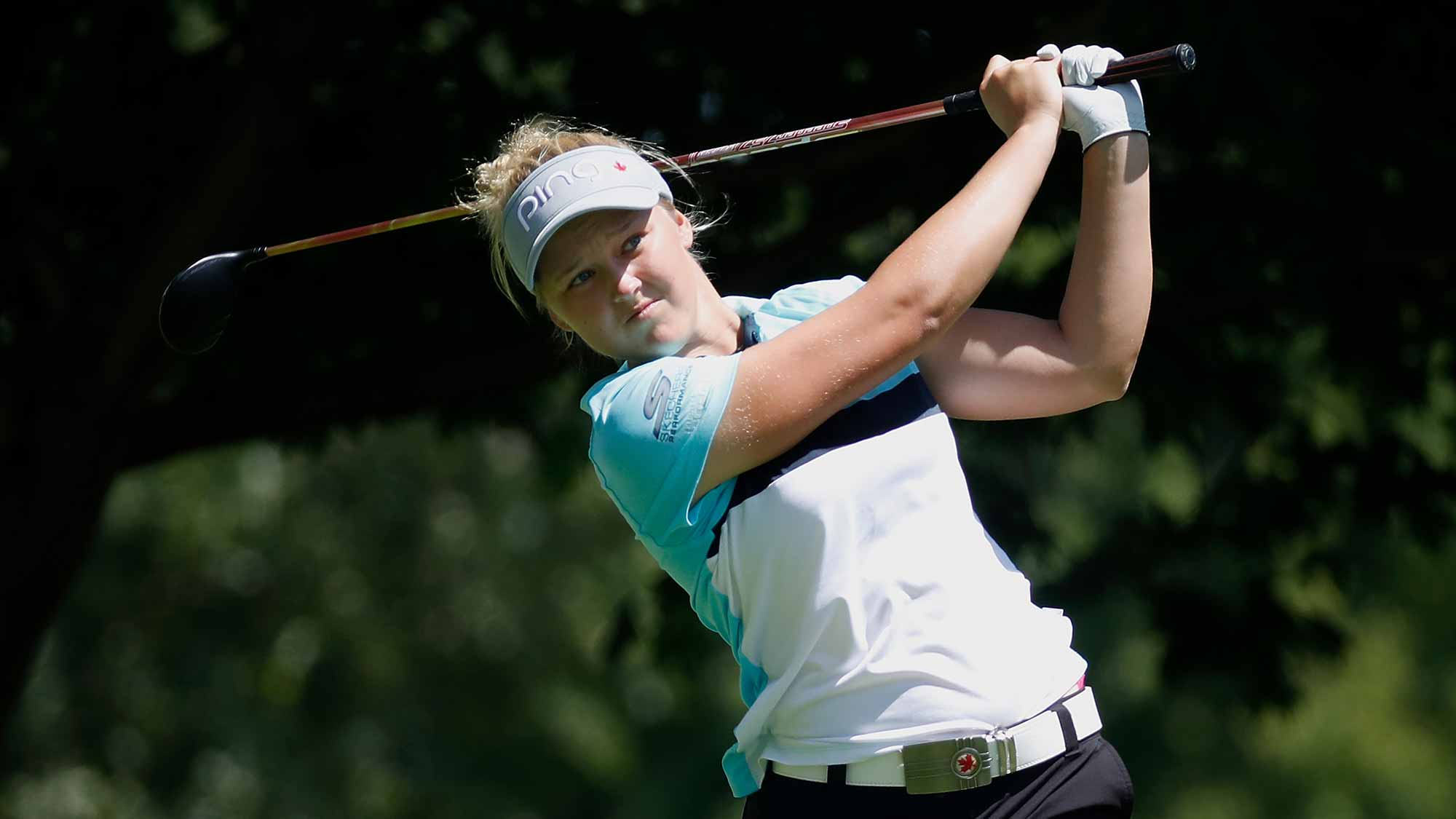Choi charges to Women's PGA lead with late birdie blitz