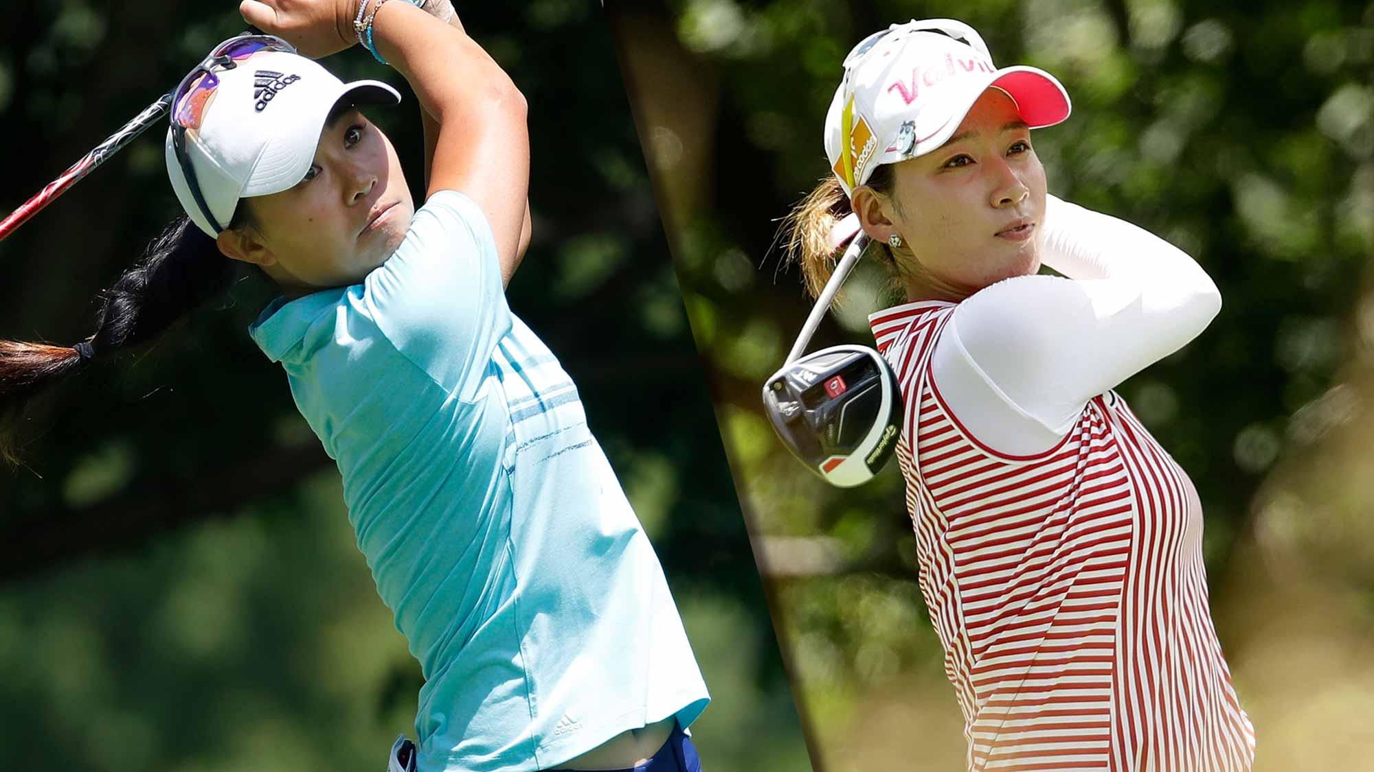 Danielle Kang and Chella Choi