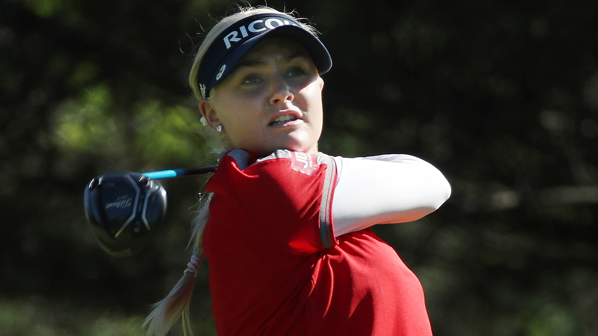 Charley Hull at the KPMG Women's PGA Championship