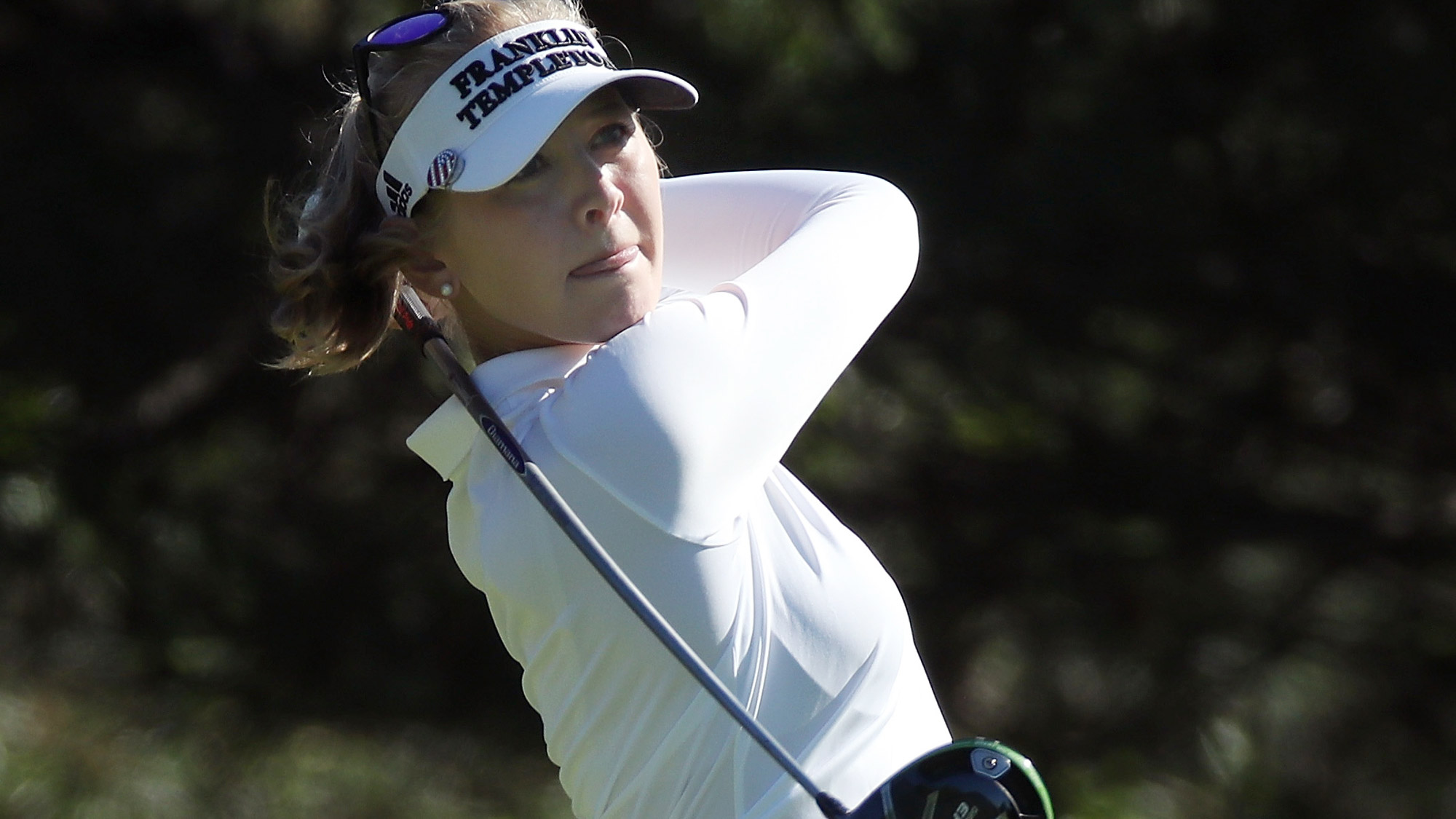 Jessica Korda Likes The Shot in Round One of KPMG Women's PGA Championship
