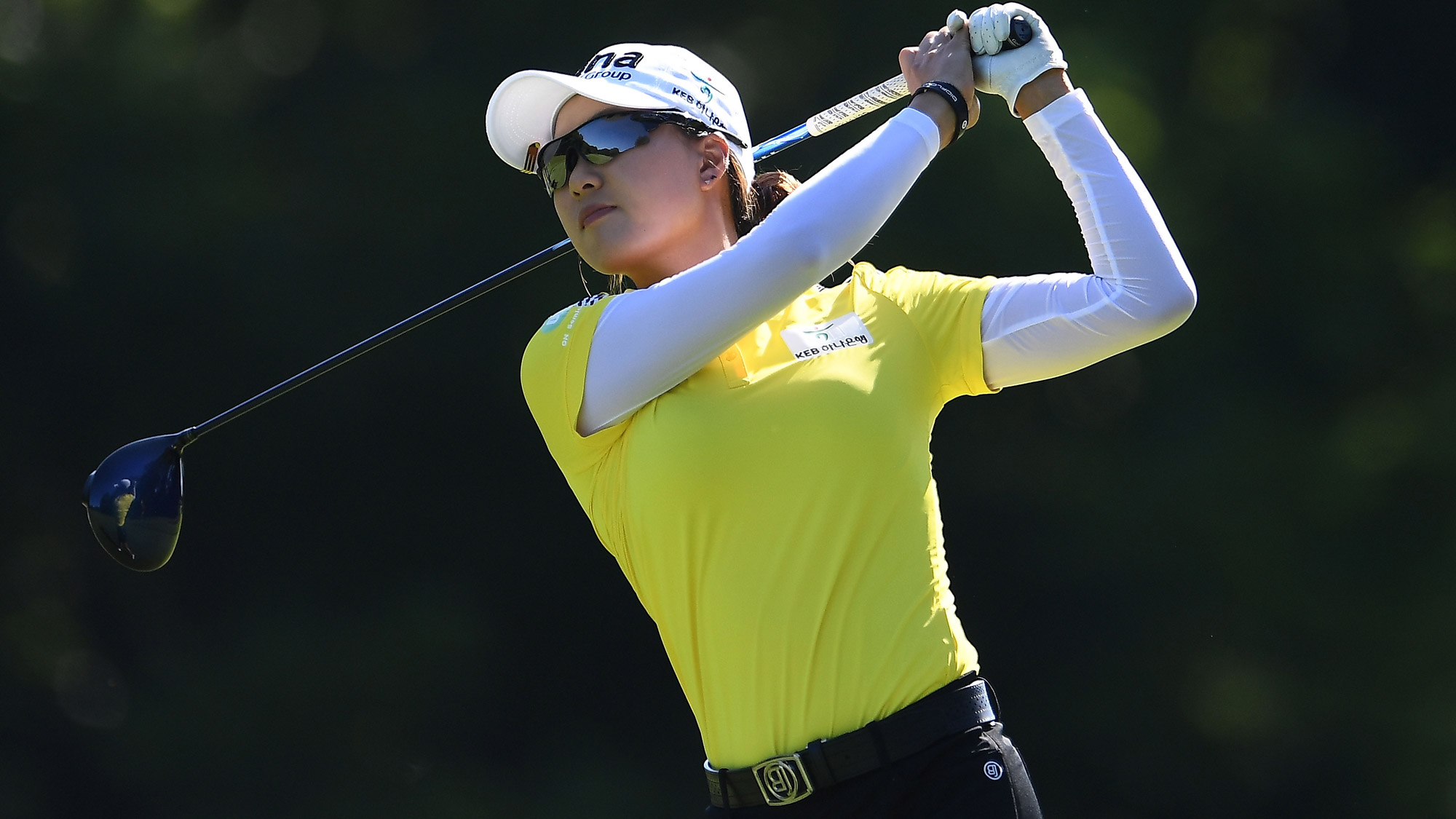 Minjee Lee Swings at the KPMG Women's PGA Championship