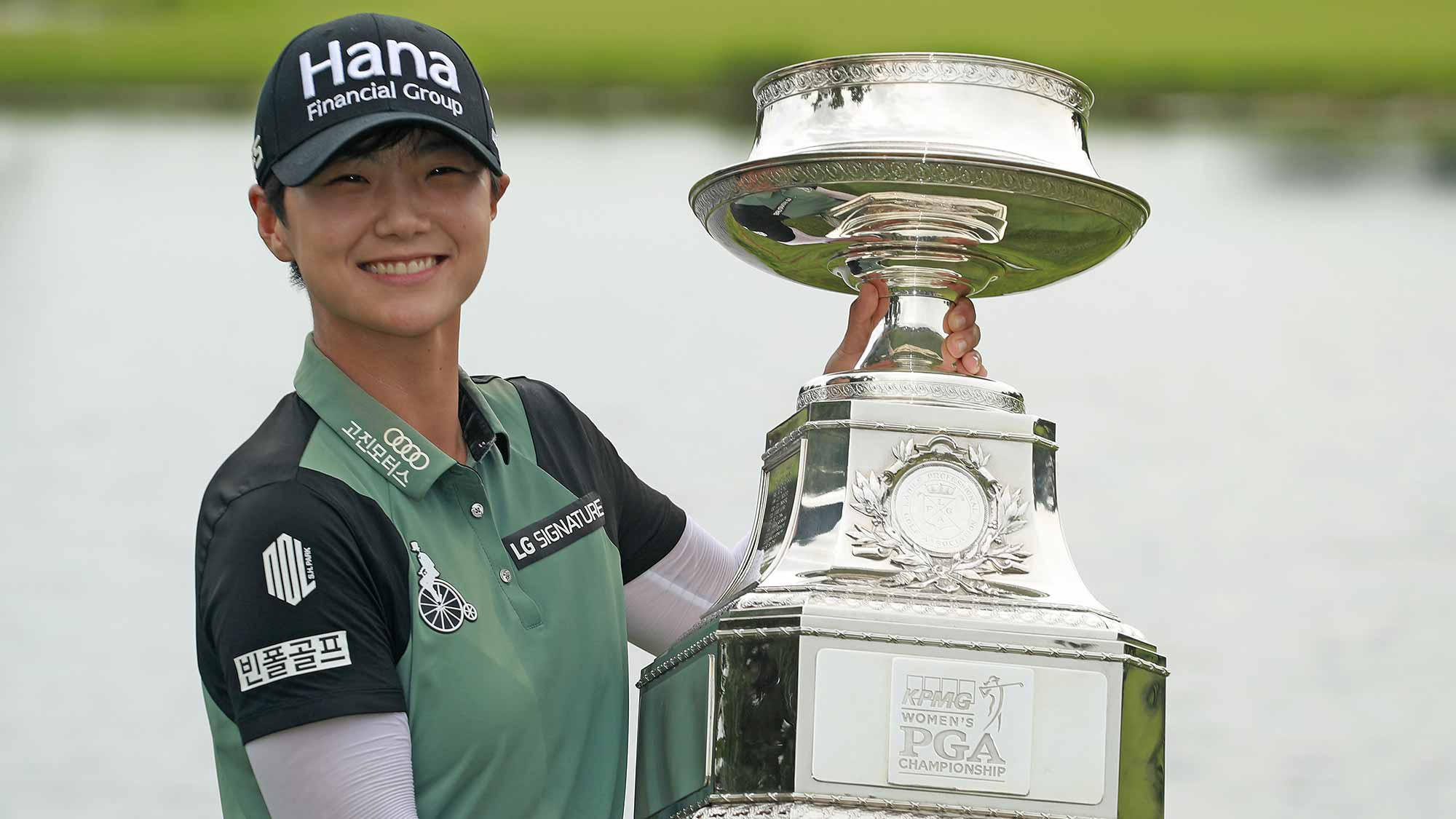 2018 Kpmg Womens Pga Championship Winner Completes Cabinet Of Major
