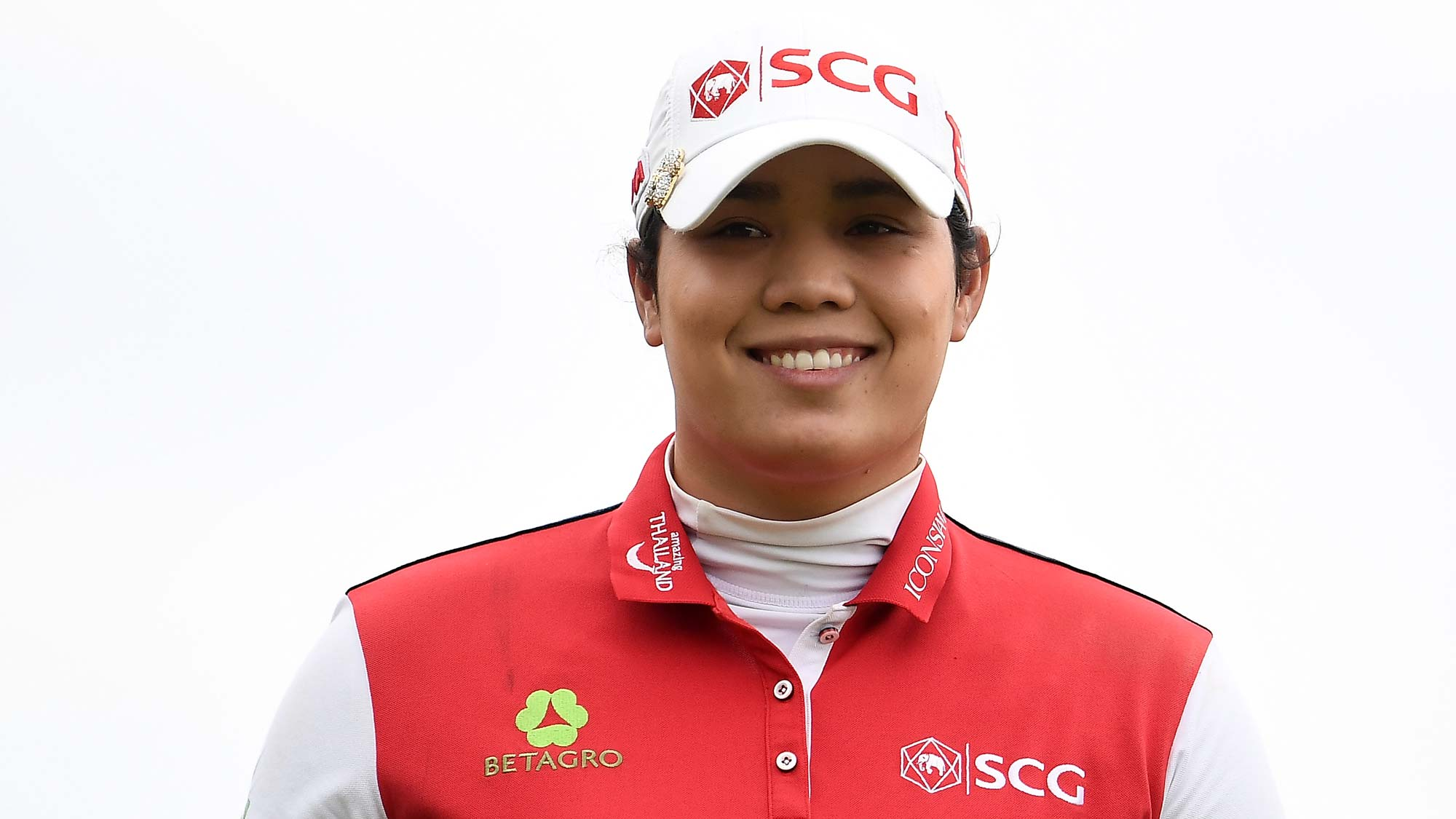 Ariya Jutanugarn of Thailand walks off the third tee during the third round of the KPMG PGA Championship