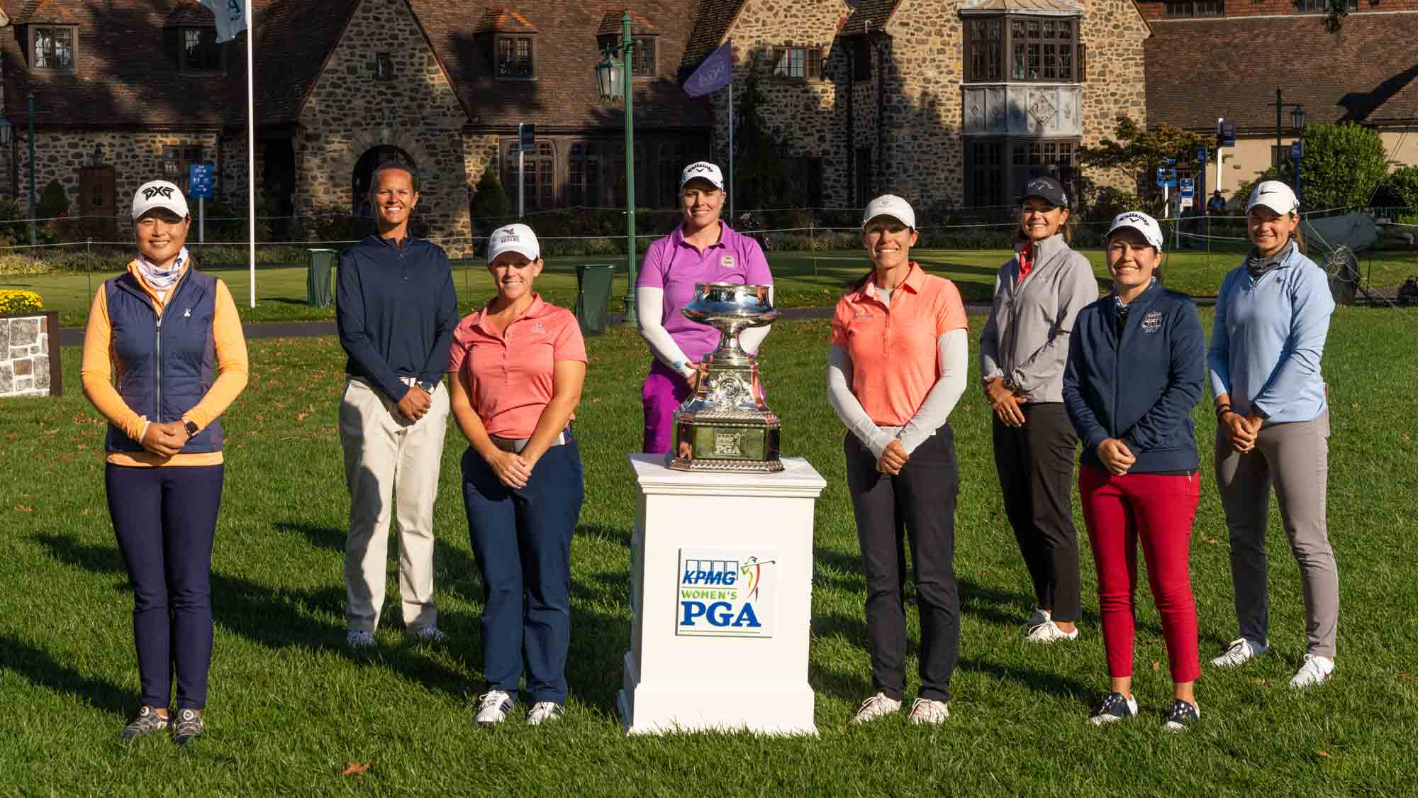 PGA/LPGA Professionals ahead of the KPMG Women's PGA Championship