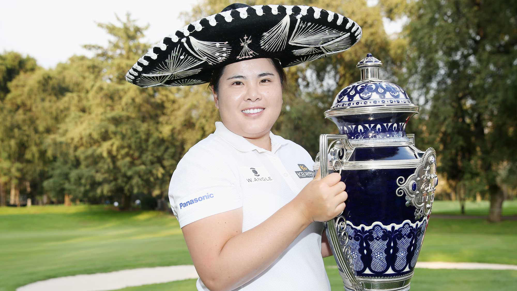 Inbee Park with latest trophy