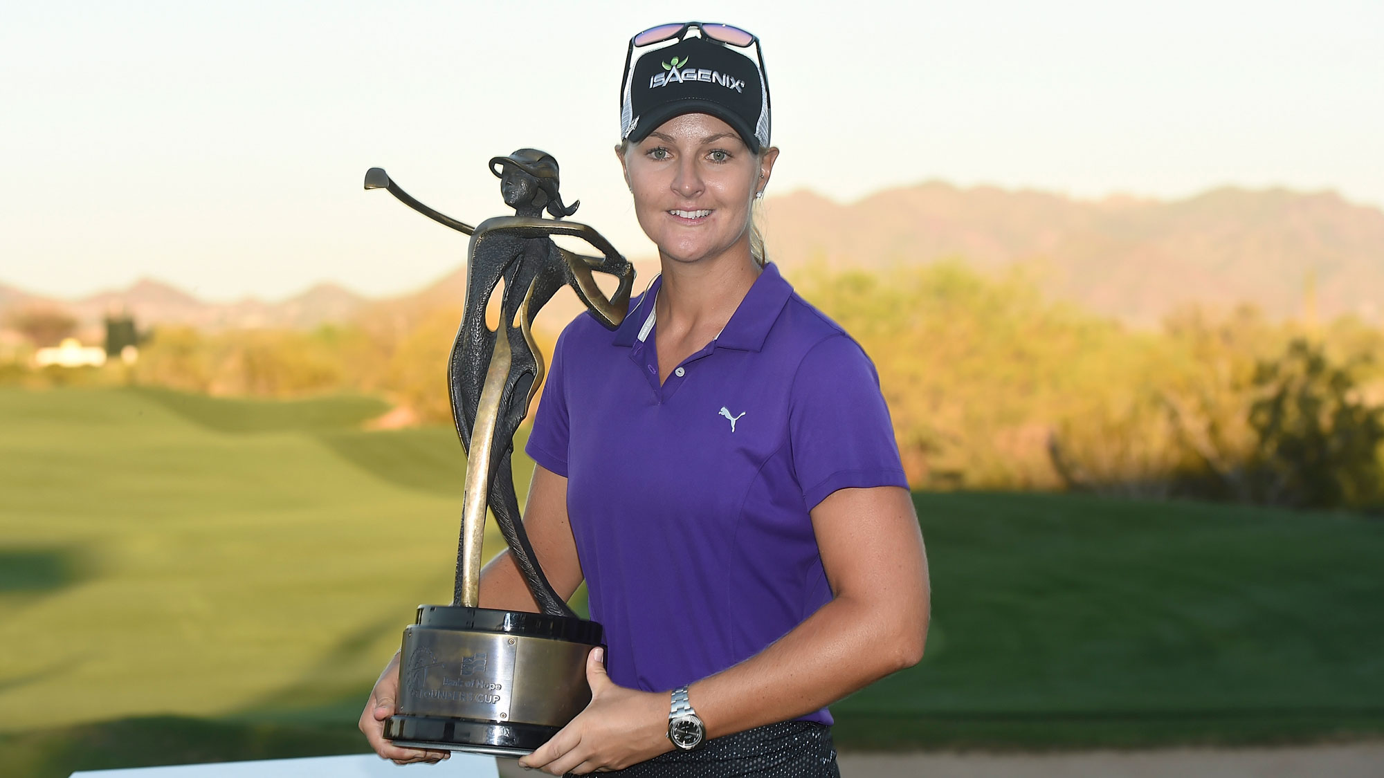 lpga.com - Nordqvist Picks Up Seventh Win at the Bank of Hope Founders Cup | LPGA