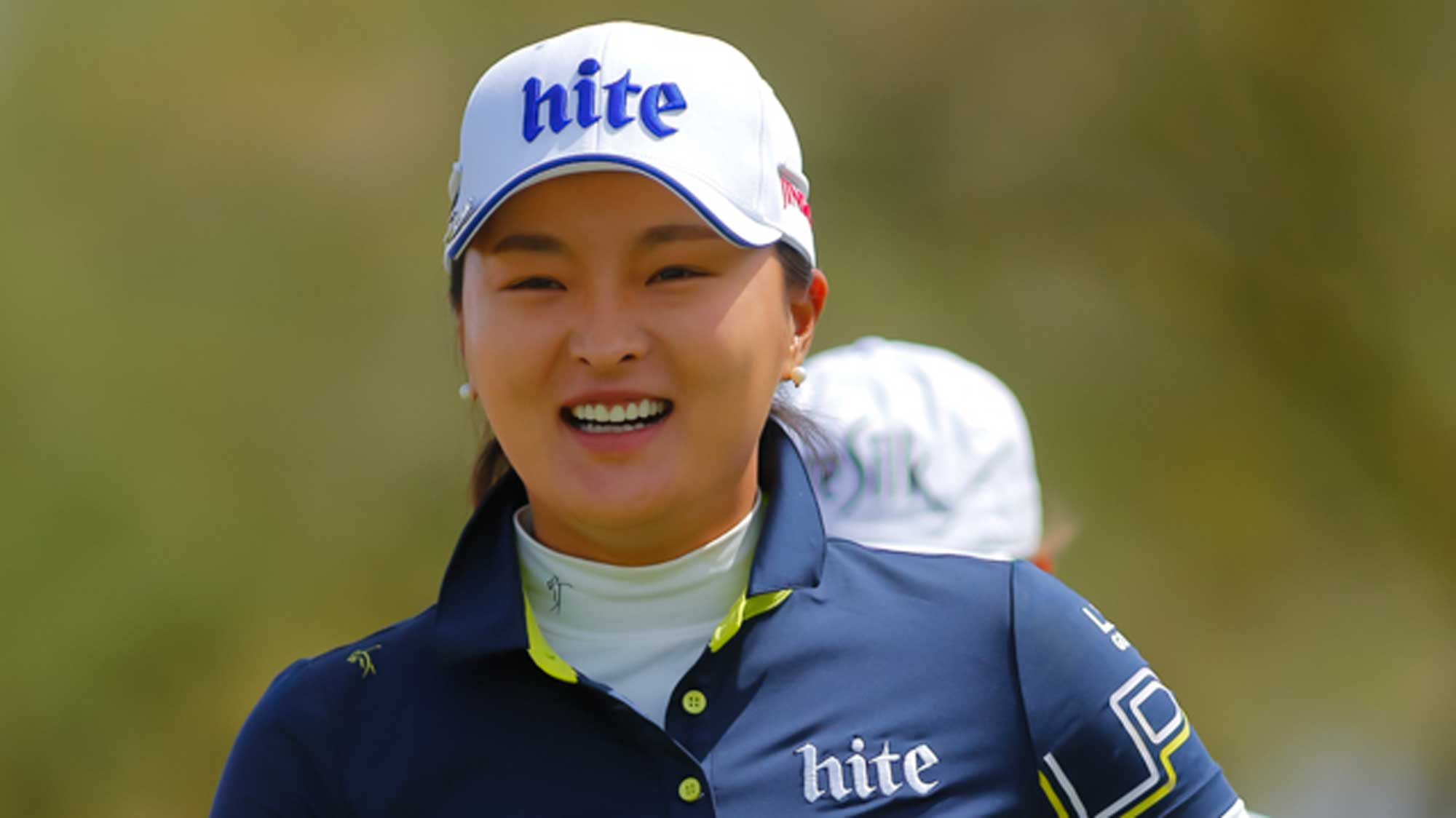Jin Young Ko Smiling at the Founders Cup