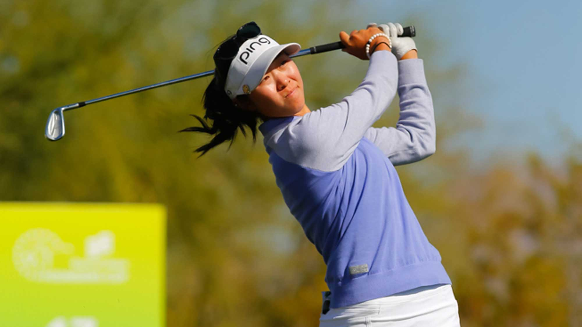Rookie Erynne Lee Swings at Founders Cup