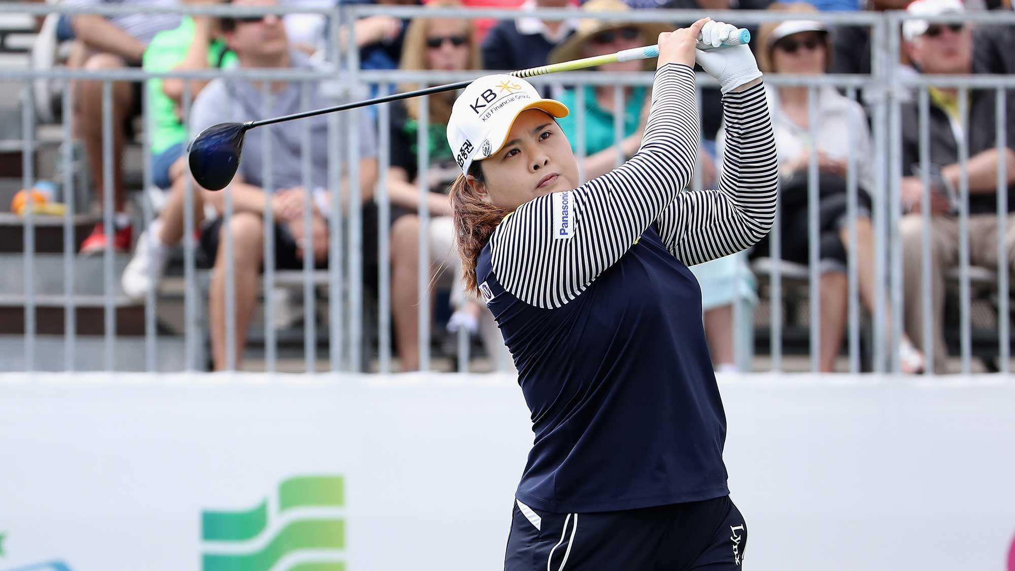 Inbee Park on Day Three of the Founders Cup