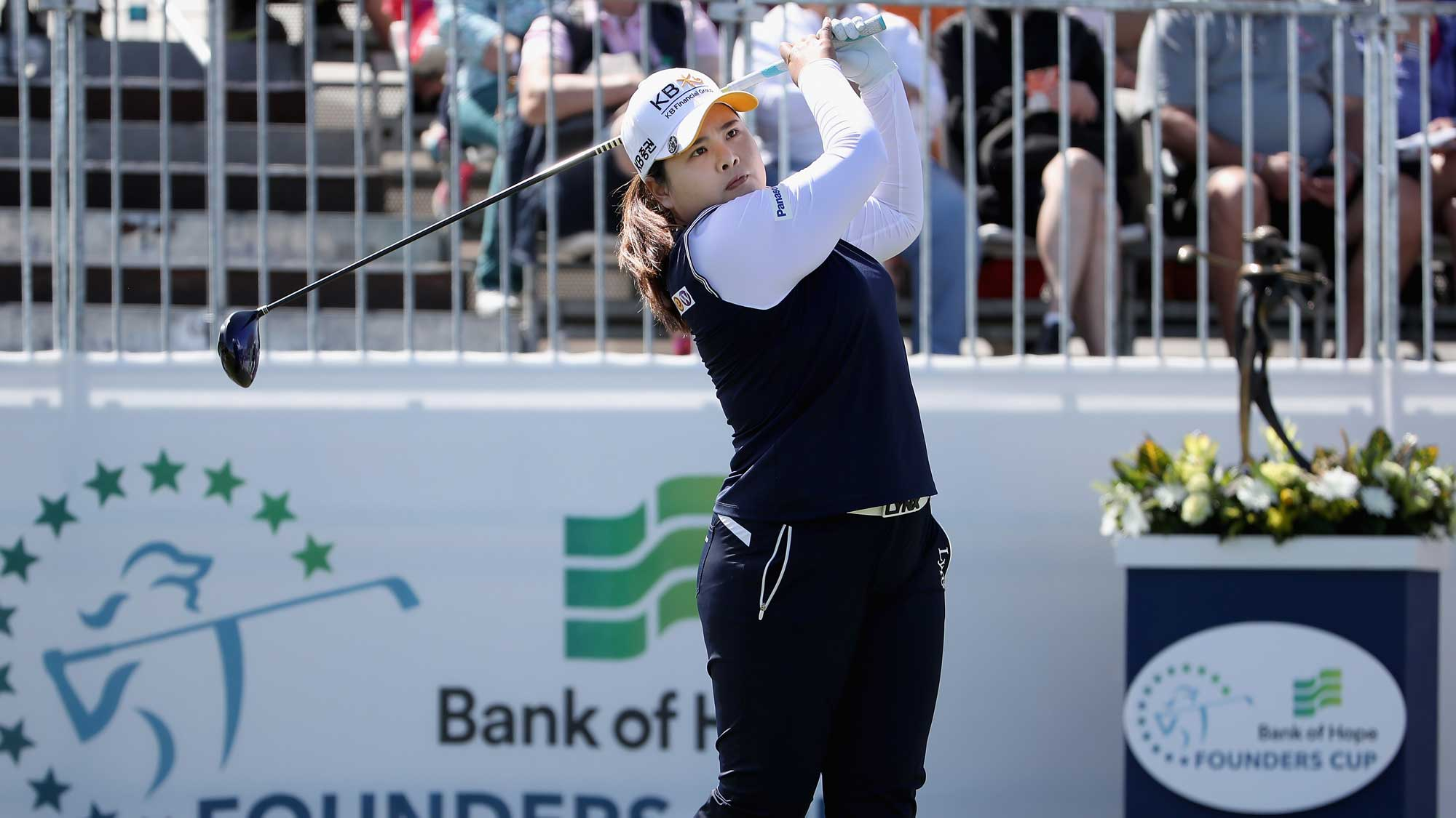 Inbee Park Tees Off Sunday at the Founders Cup